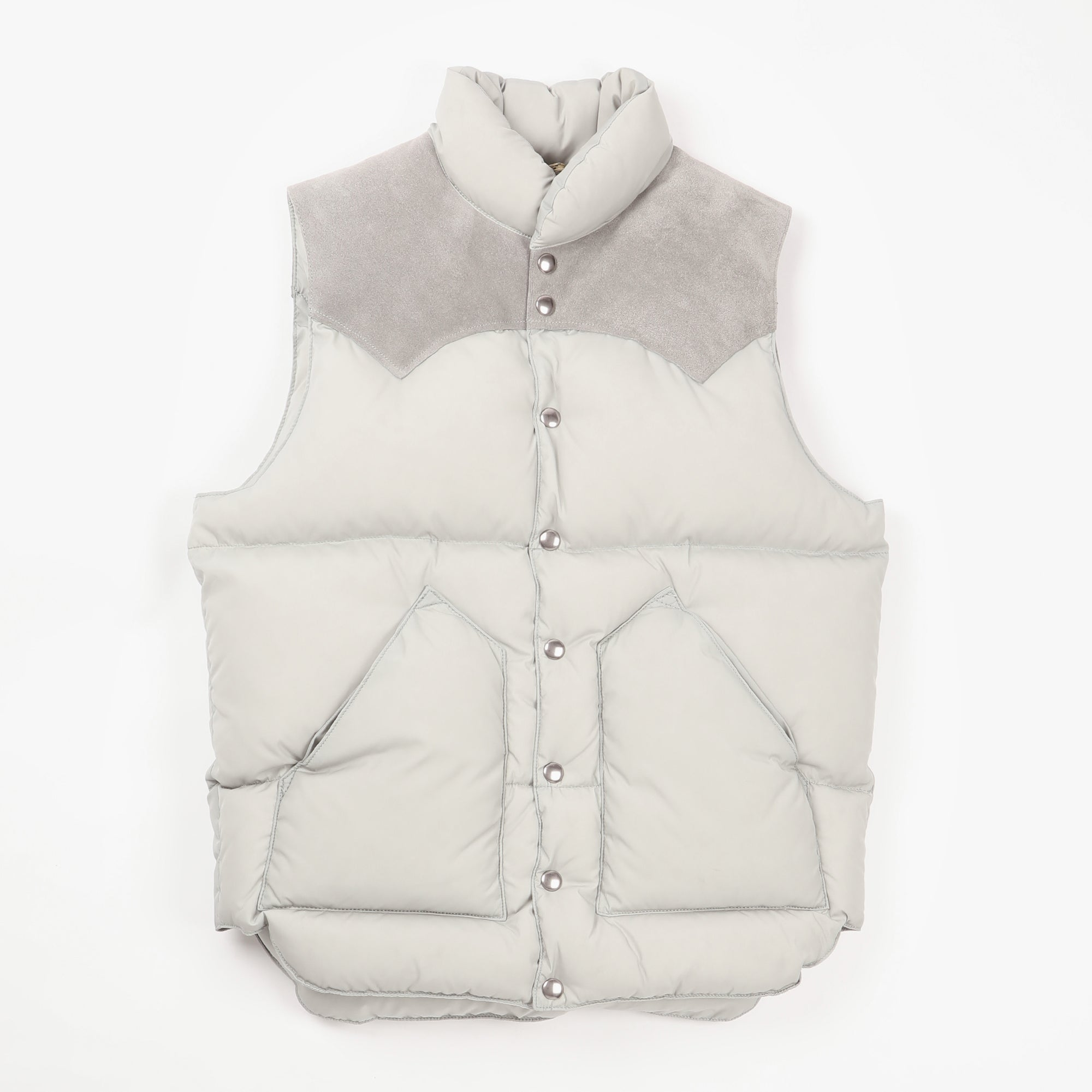 Suede Christy Nylon Vest