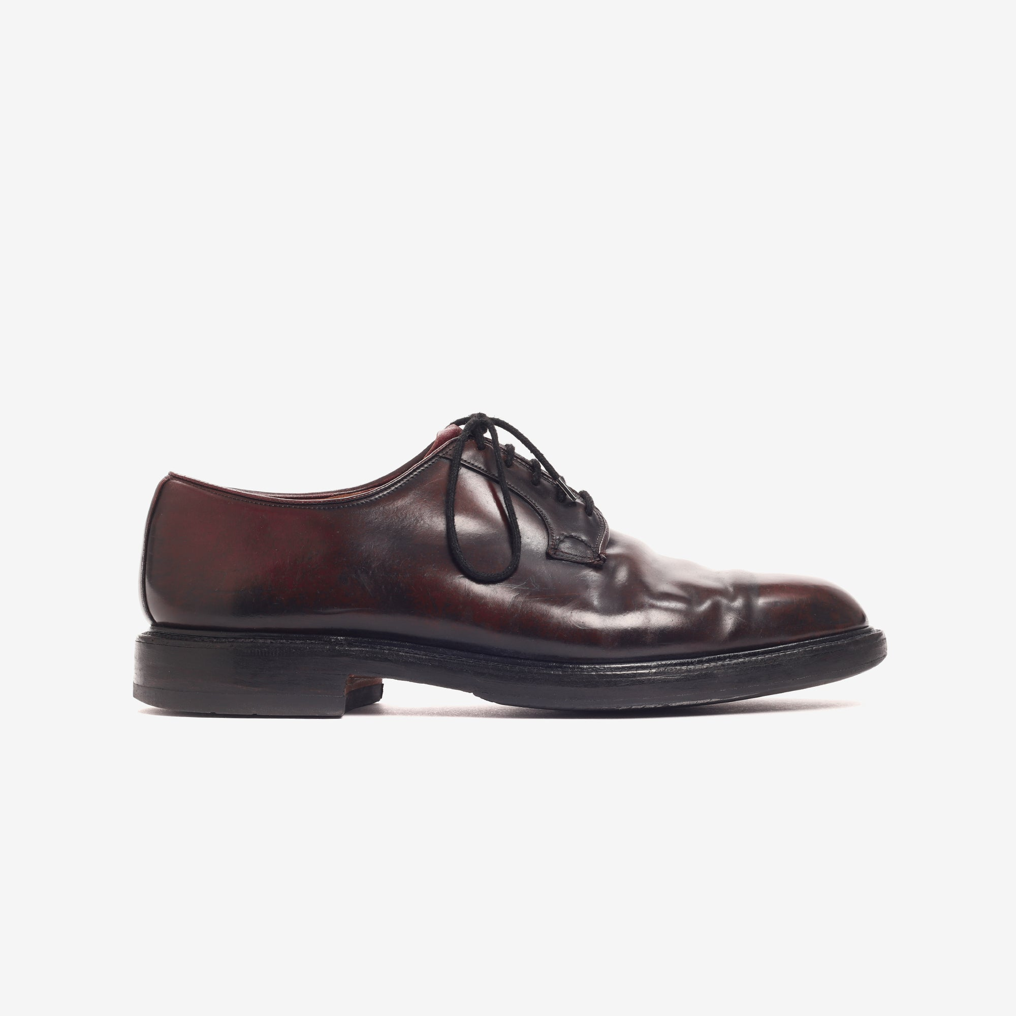 Cordovan Shell Derby Shoes