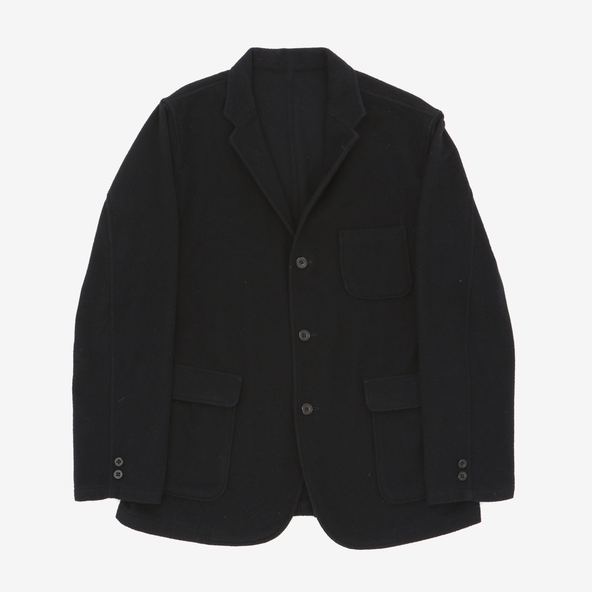 Unlined Wool Blazer