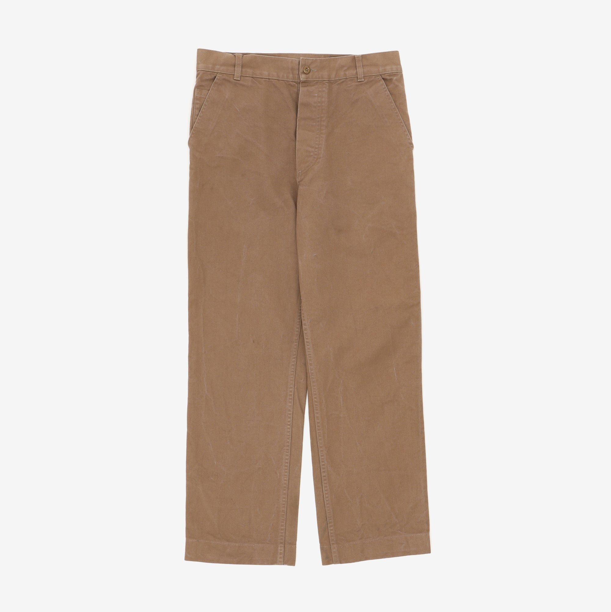 Cinch Back Canvas Chinos