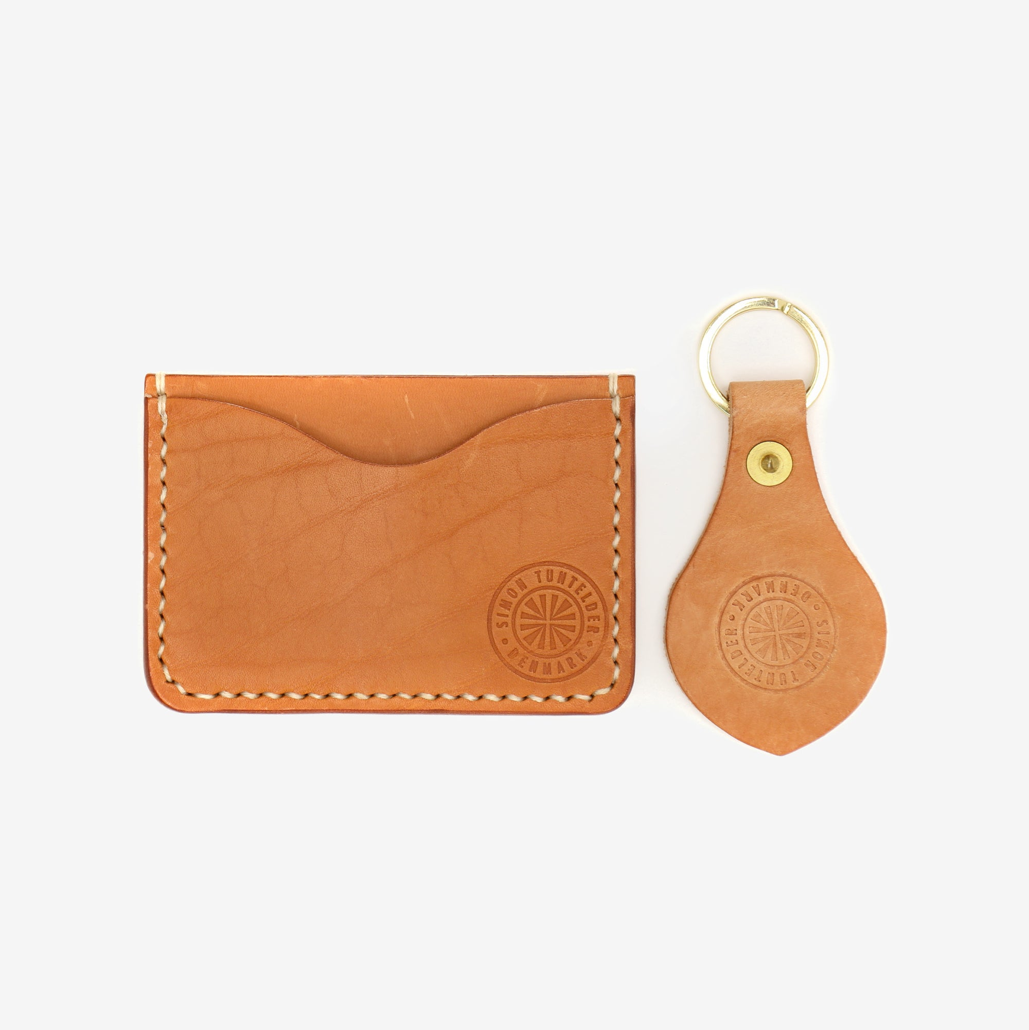 2 Compartment Card Holder