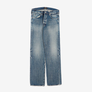 Distressed Selvedge Denim