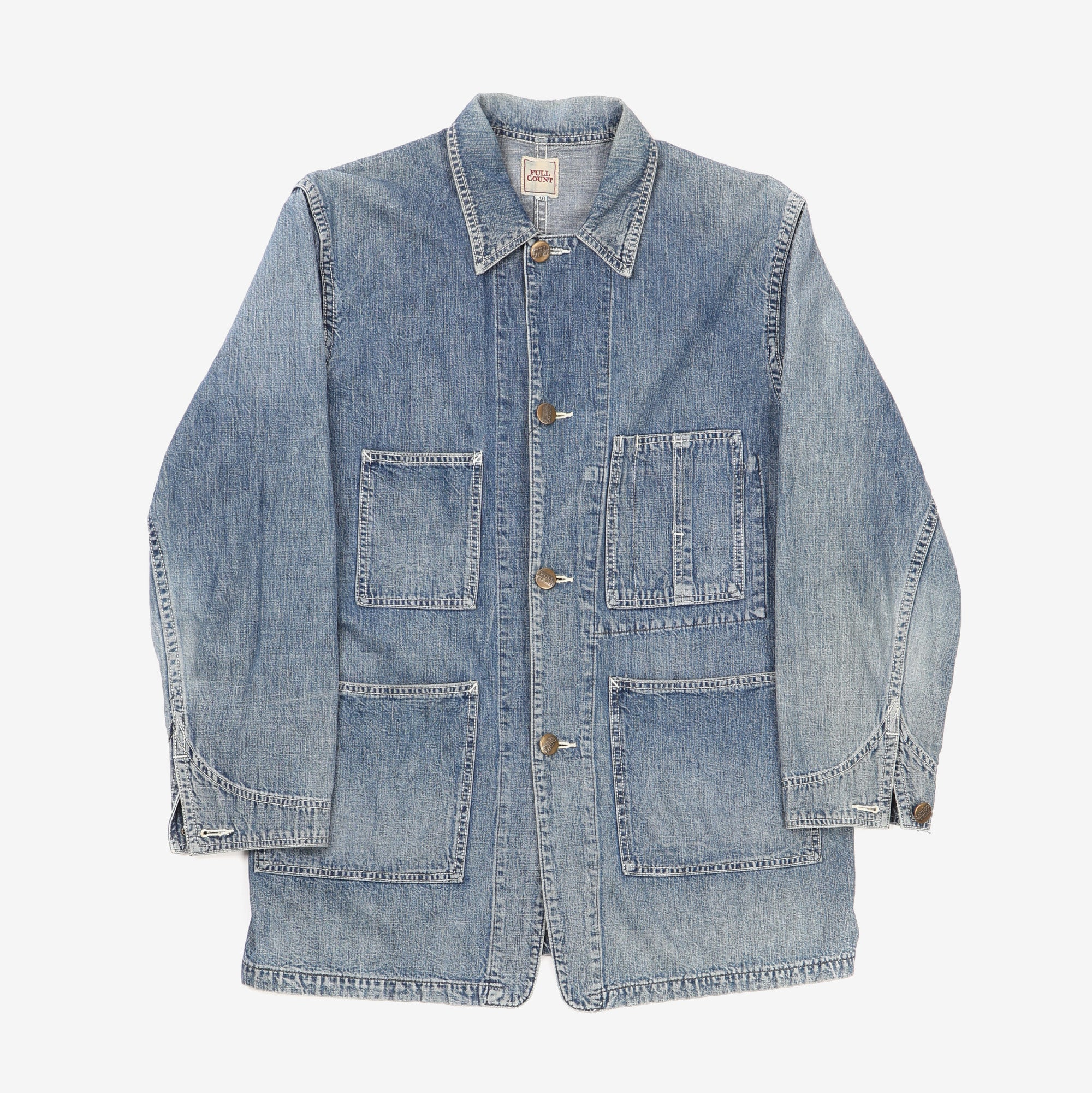 Denim Coverall Jacket