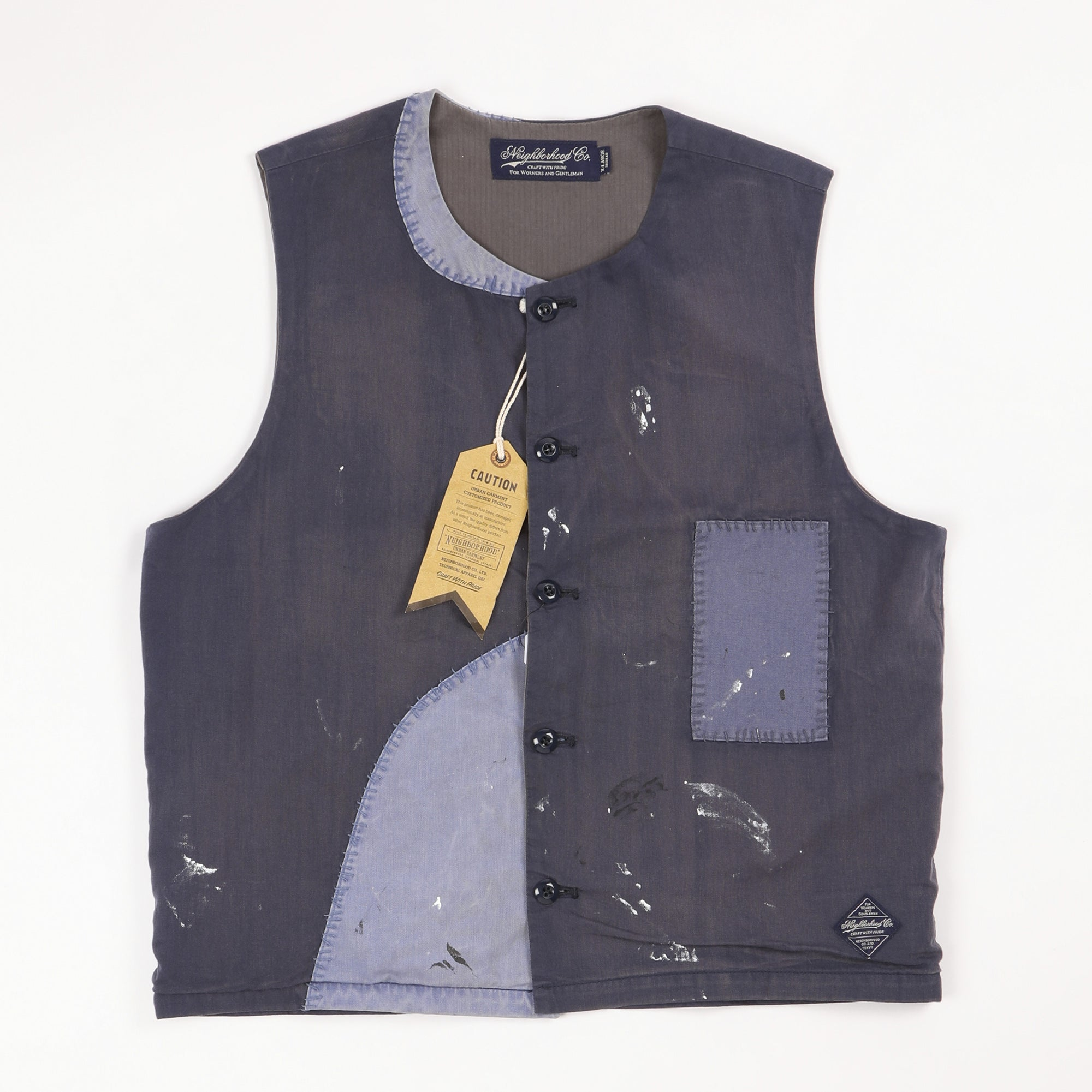 Patch Work Vest