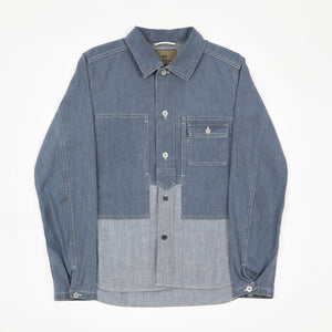 Two Tone Denim Shirt