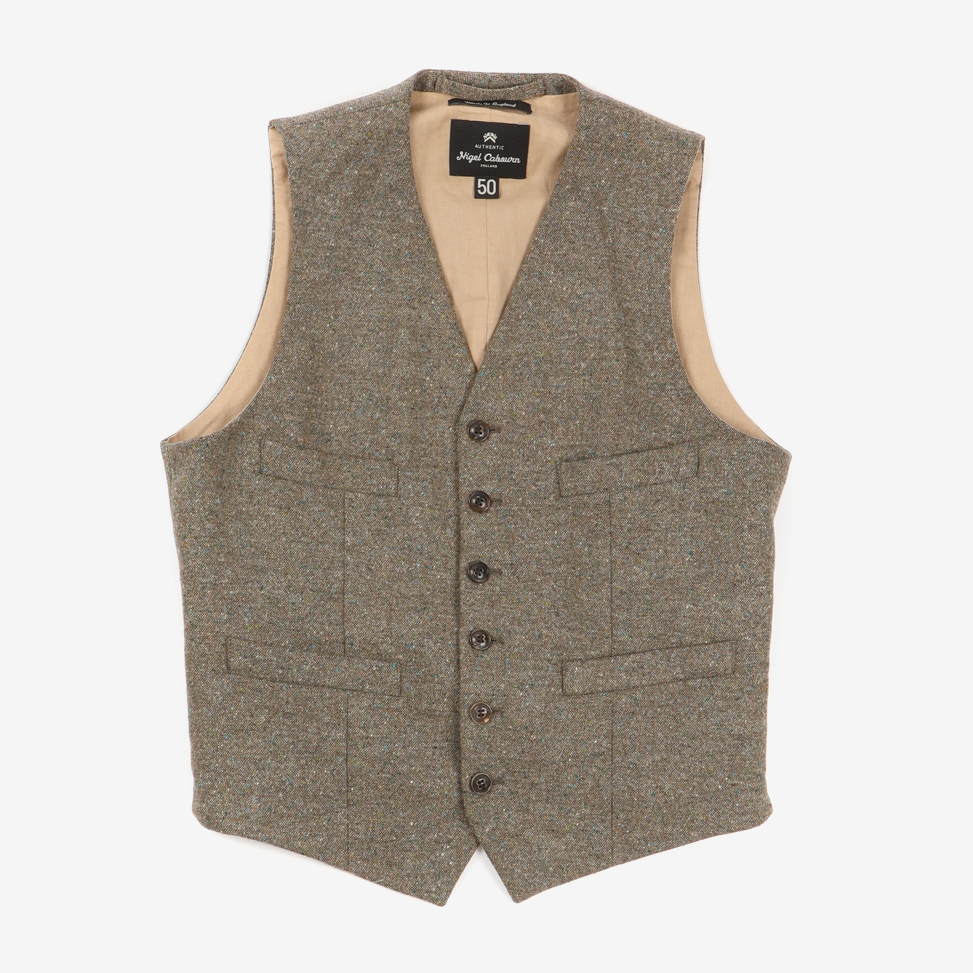 Donegal Tweed Vest