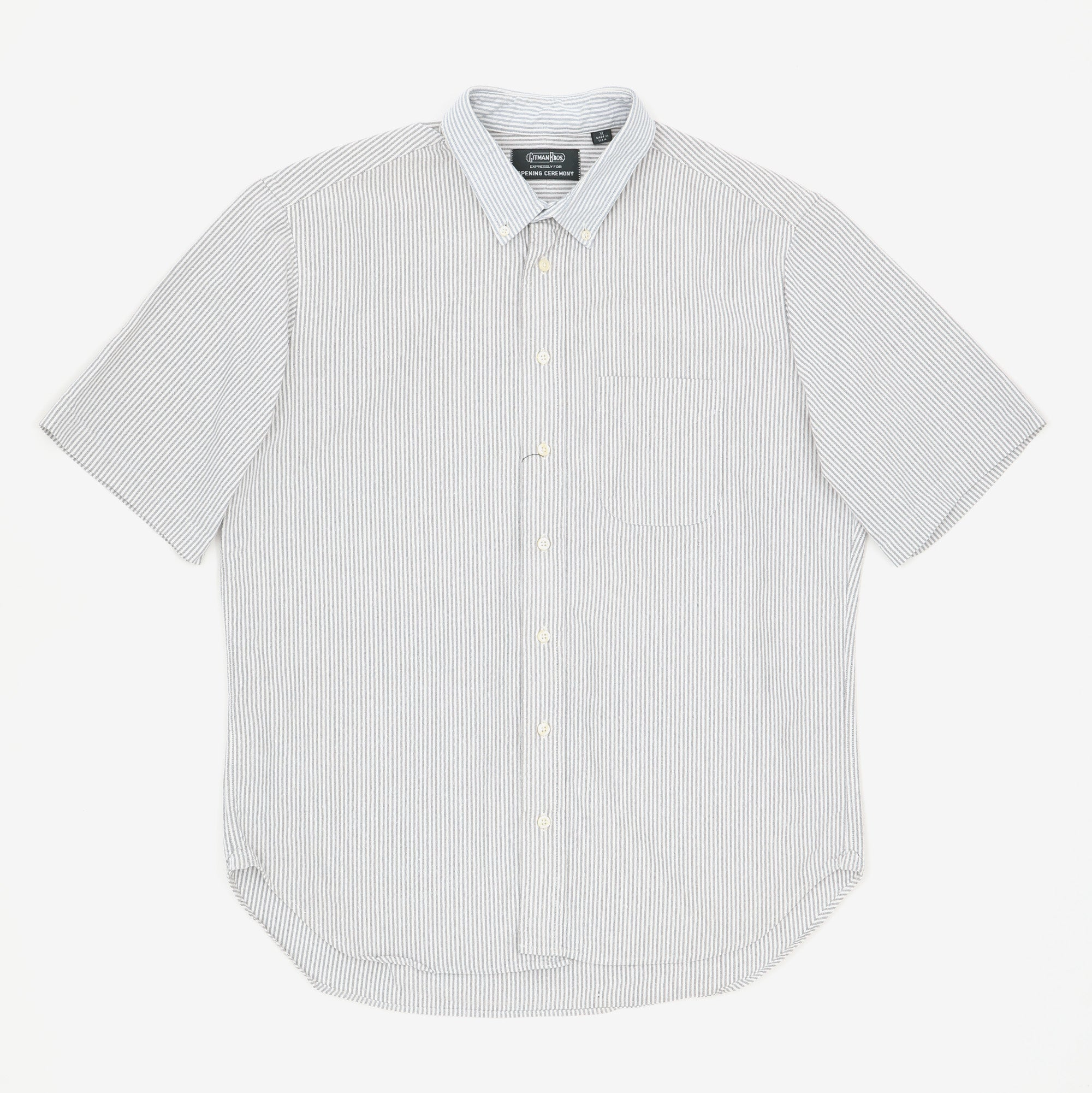 Short Sleeve BD Striped Shirt