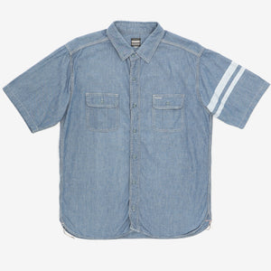 Short Sleeve 5oz Chambray Work Shirt