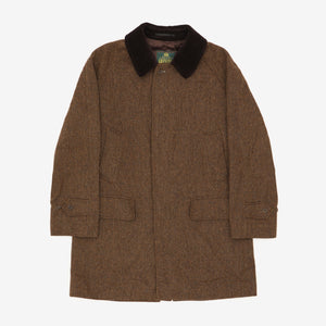 Tweed Trench Coat