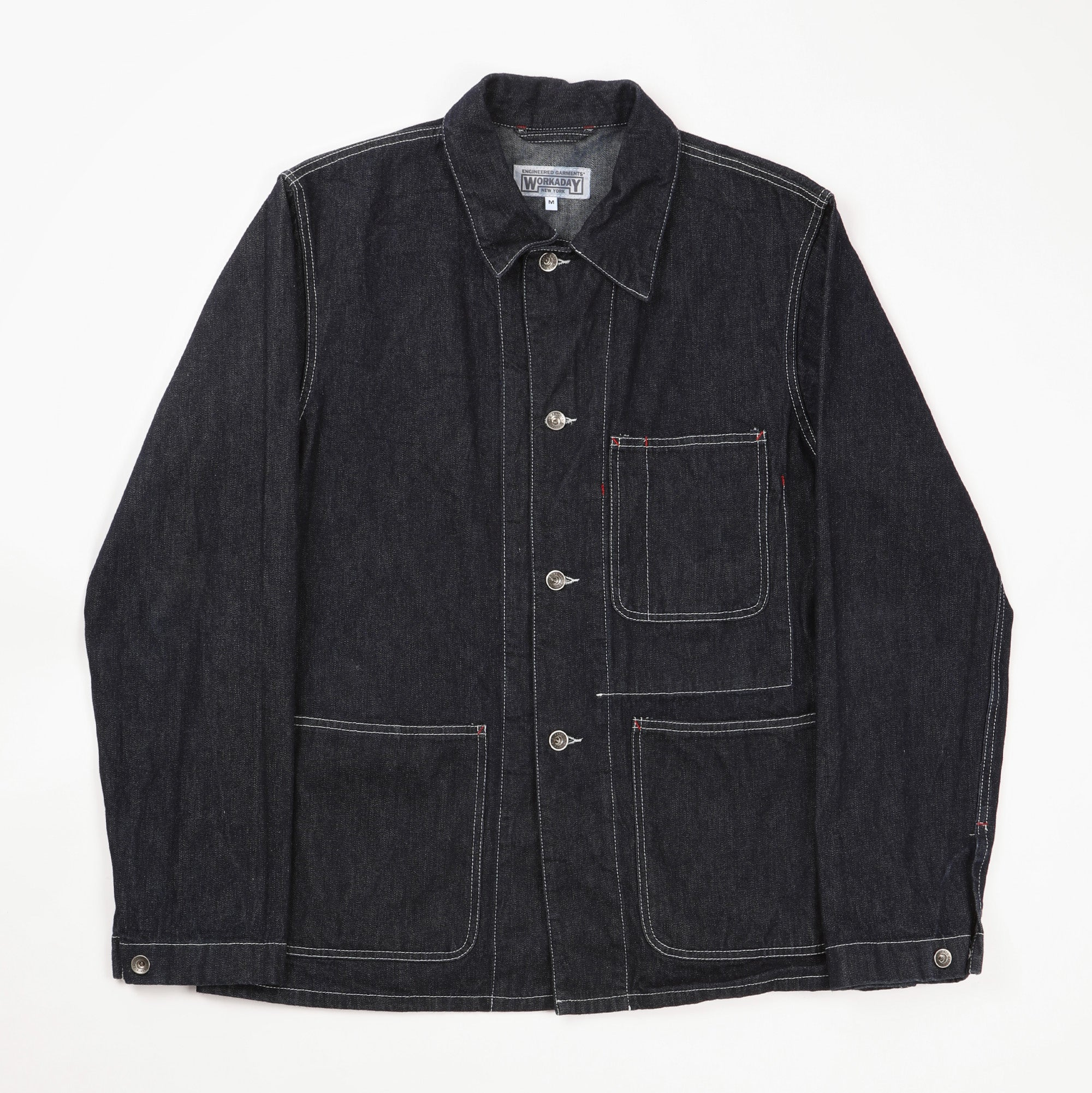 Workaday Denim Chore Jacket