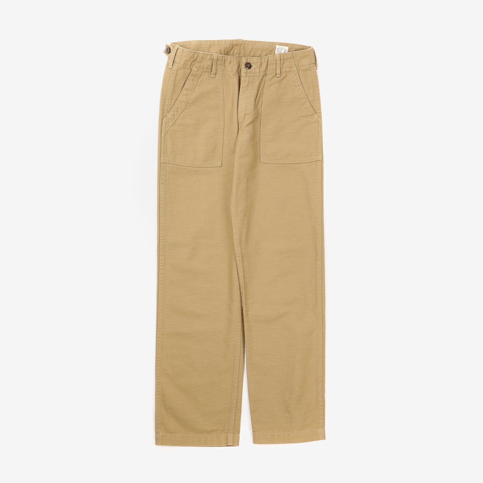 Sateen Fatigue Pants
