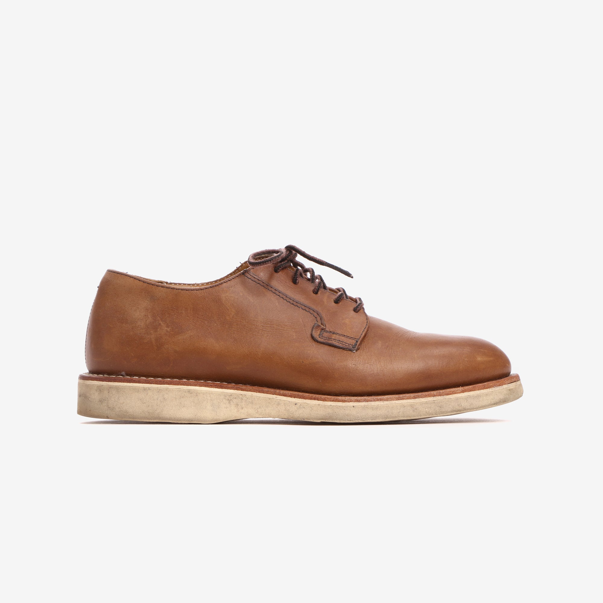 03101 Post Man Leather Derby Shoe