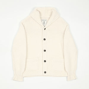 Joe McCoy's Aran Shawl Collar Cardigan
