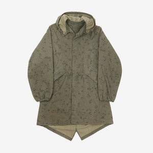US Army Night Camo Fishtail Parka