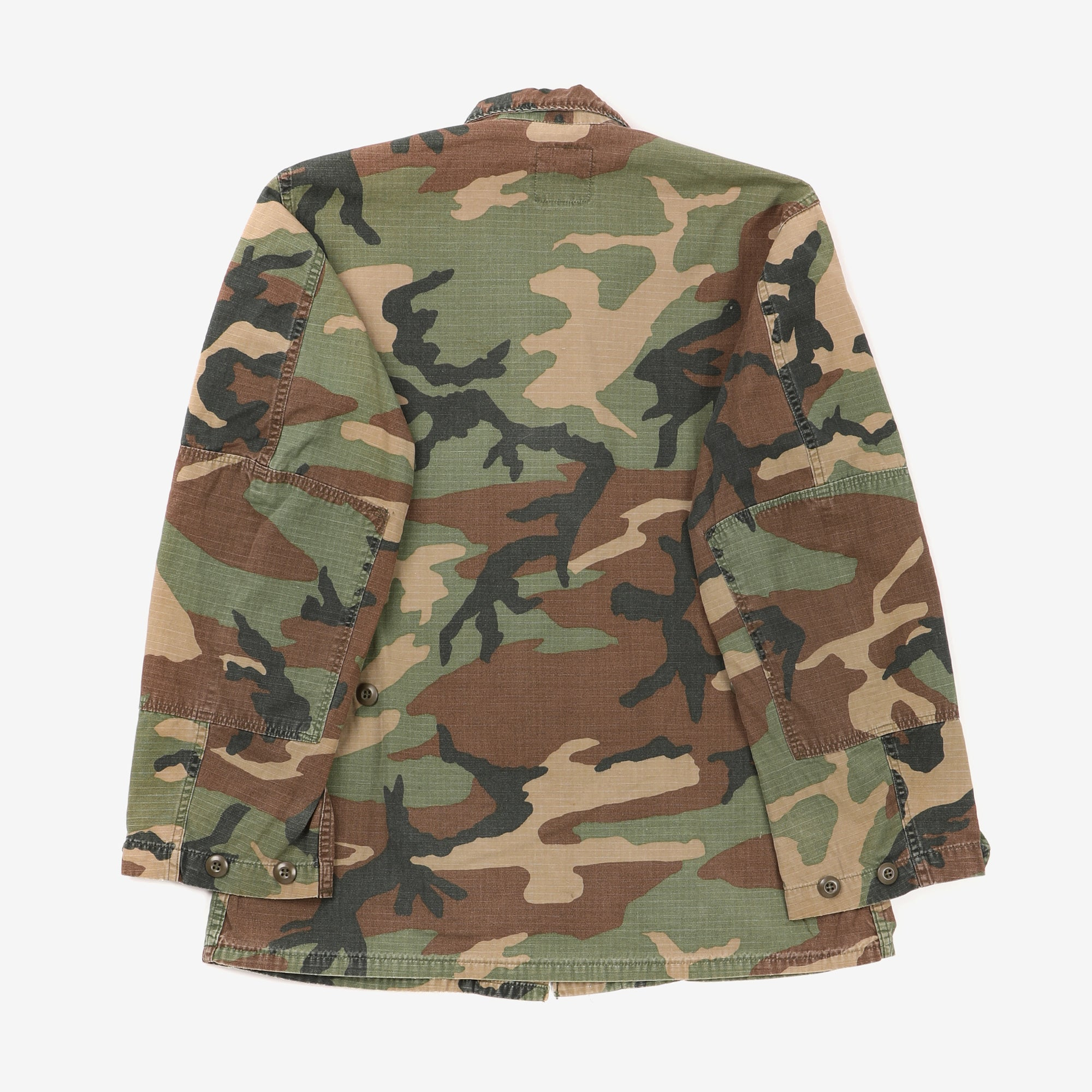 US Army Ripstop Woodland Camo Airborne Jacket