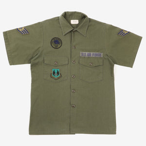 1970's US Air Force OG507 Short Sleeve Shirt