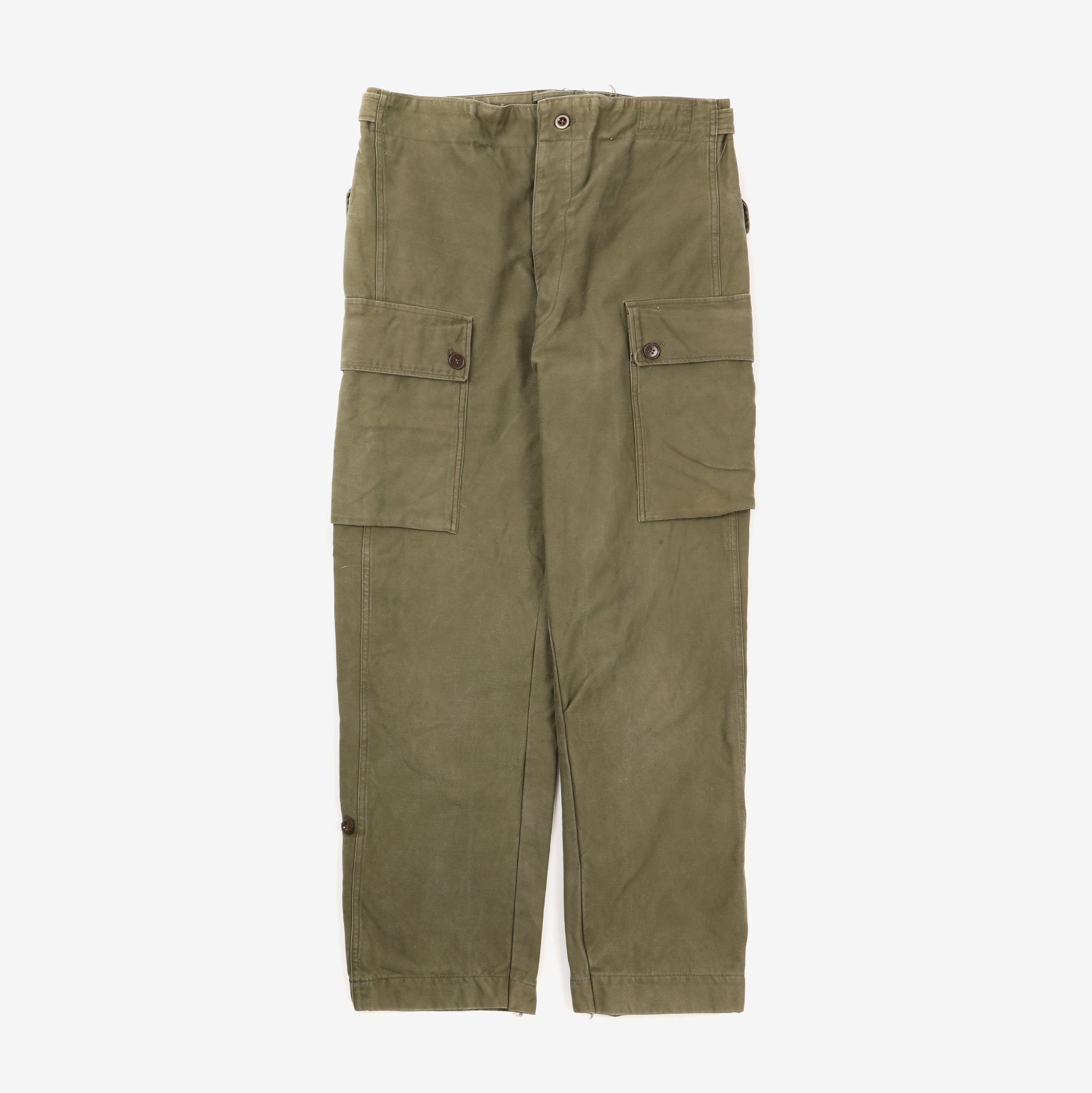 Olive Drab Military Fatigue Pants