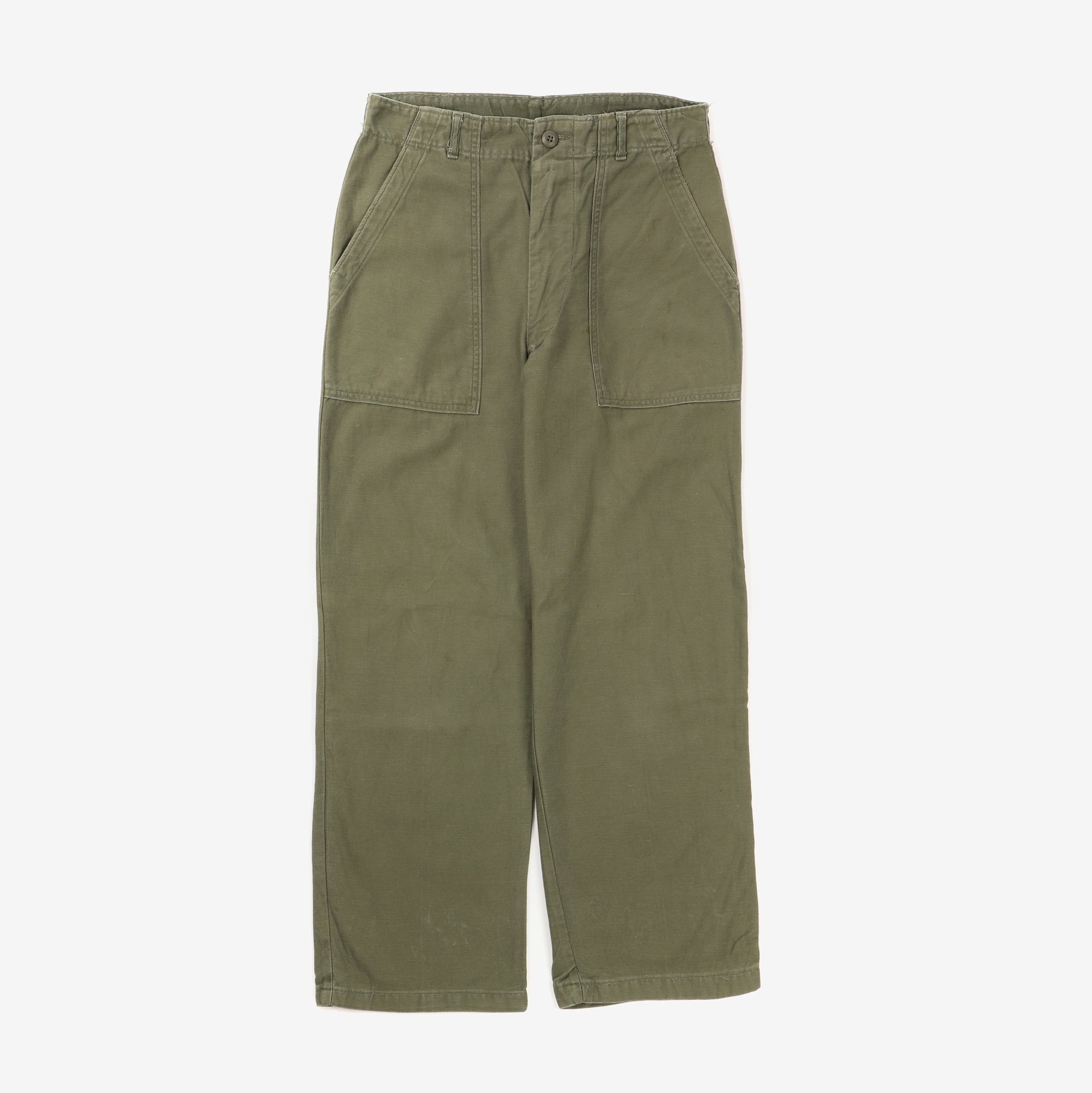 1960s U.S Army OG107 Fatigue Pants