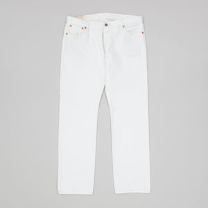 Joe McCoy White Denim Pants