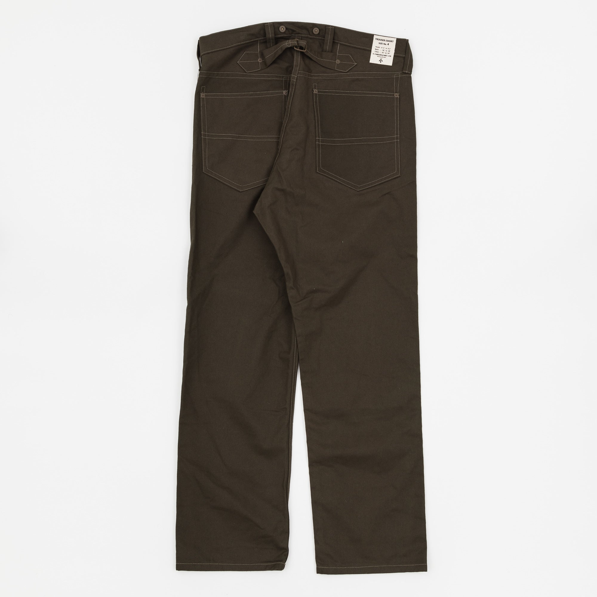 Nigel Cabourn Hard Drill Work Jean