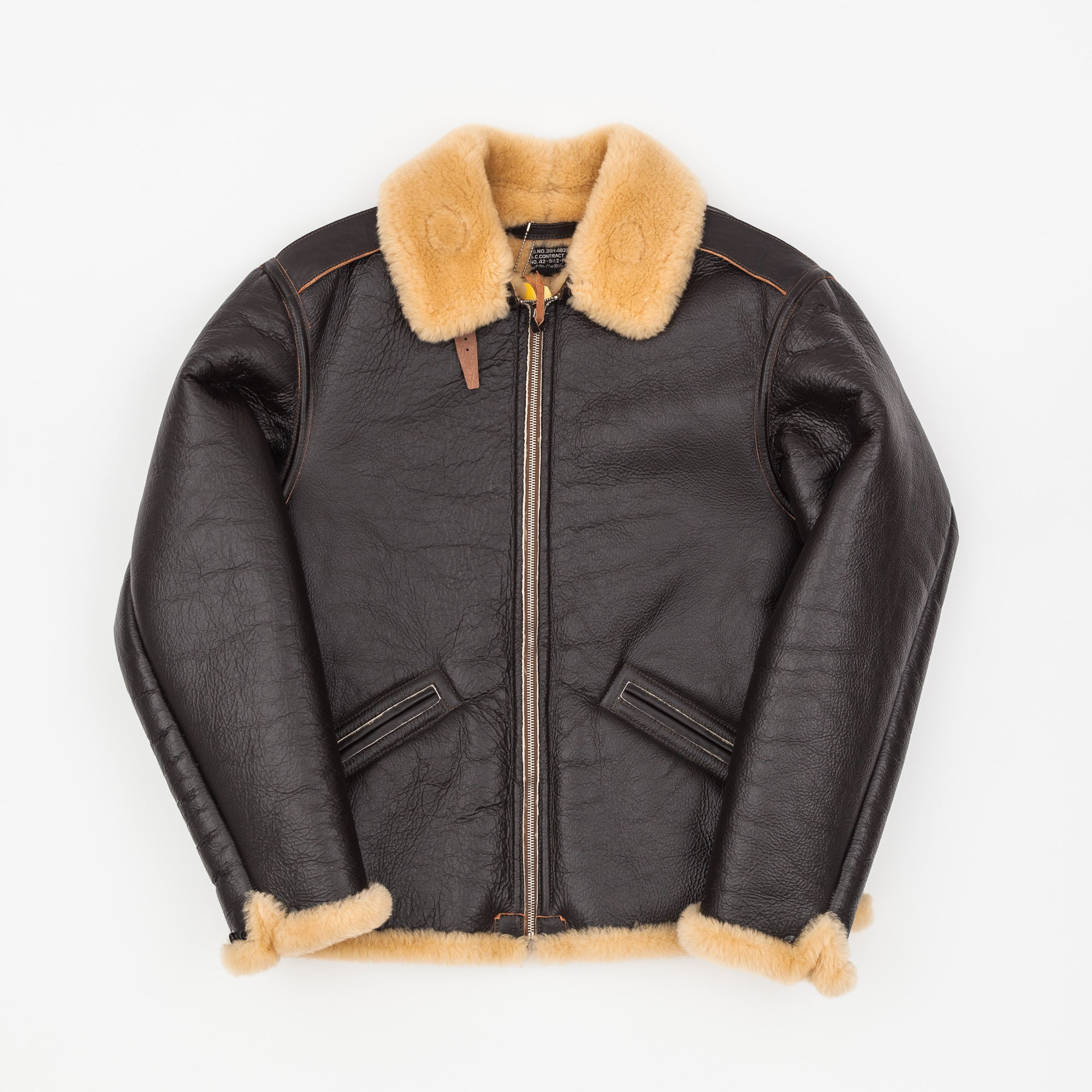 The Real McCoy's B-6 Leather Flight Jacket