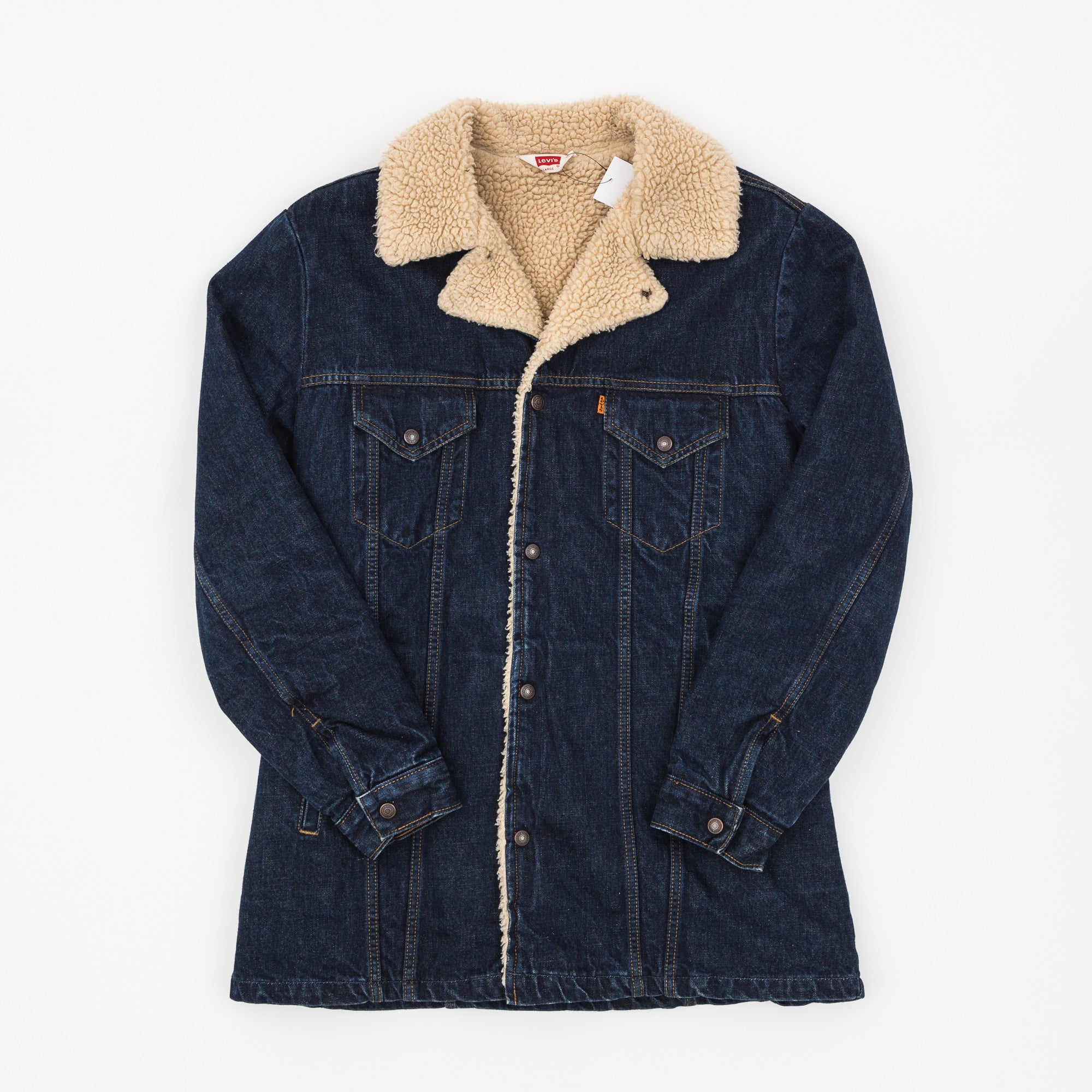Levi's Sherpa Trucker Denim Jacket