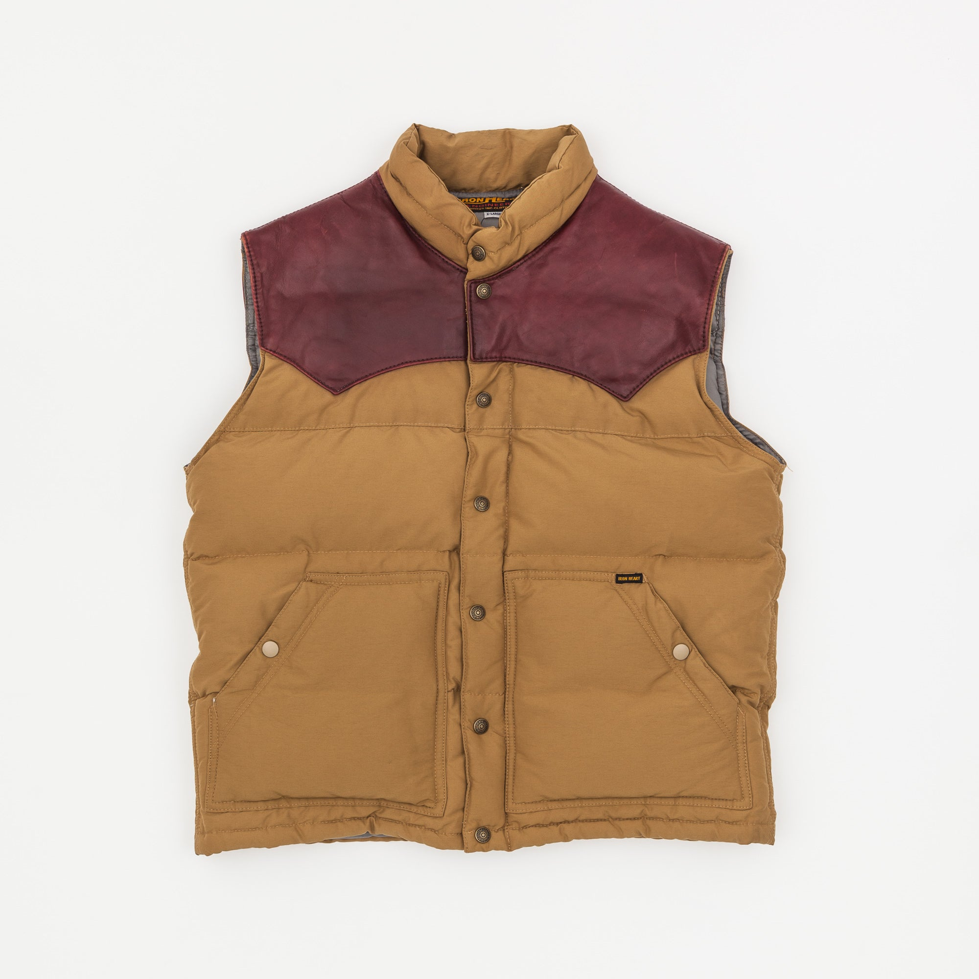 Iron Heart Nylon Down Vest