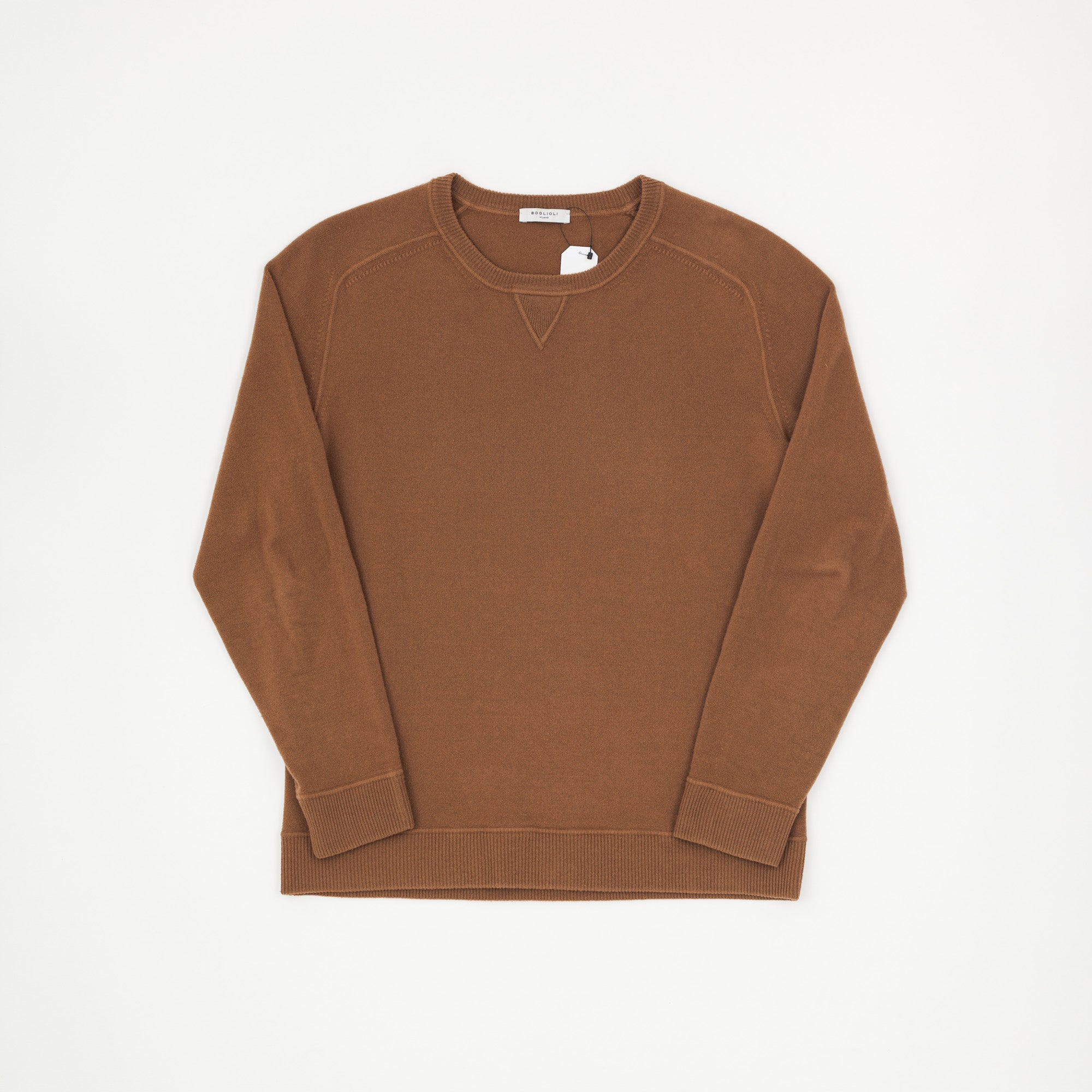 Boglioli Wool Knit Sweatshirt
