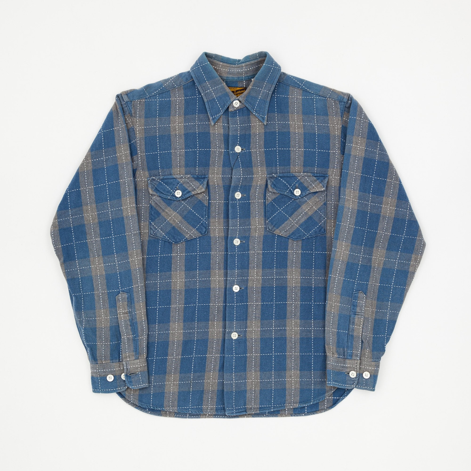 Joe McCoy Check Flannel Work Shirt