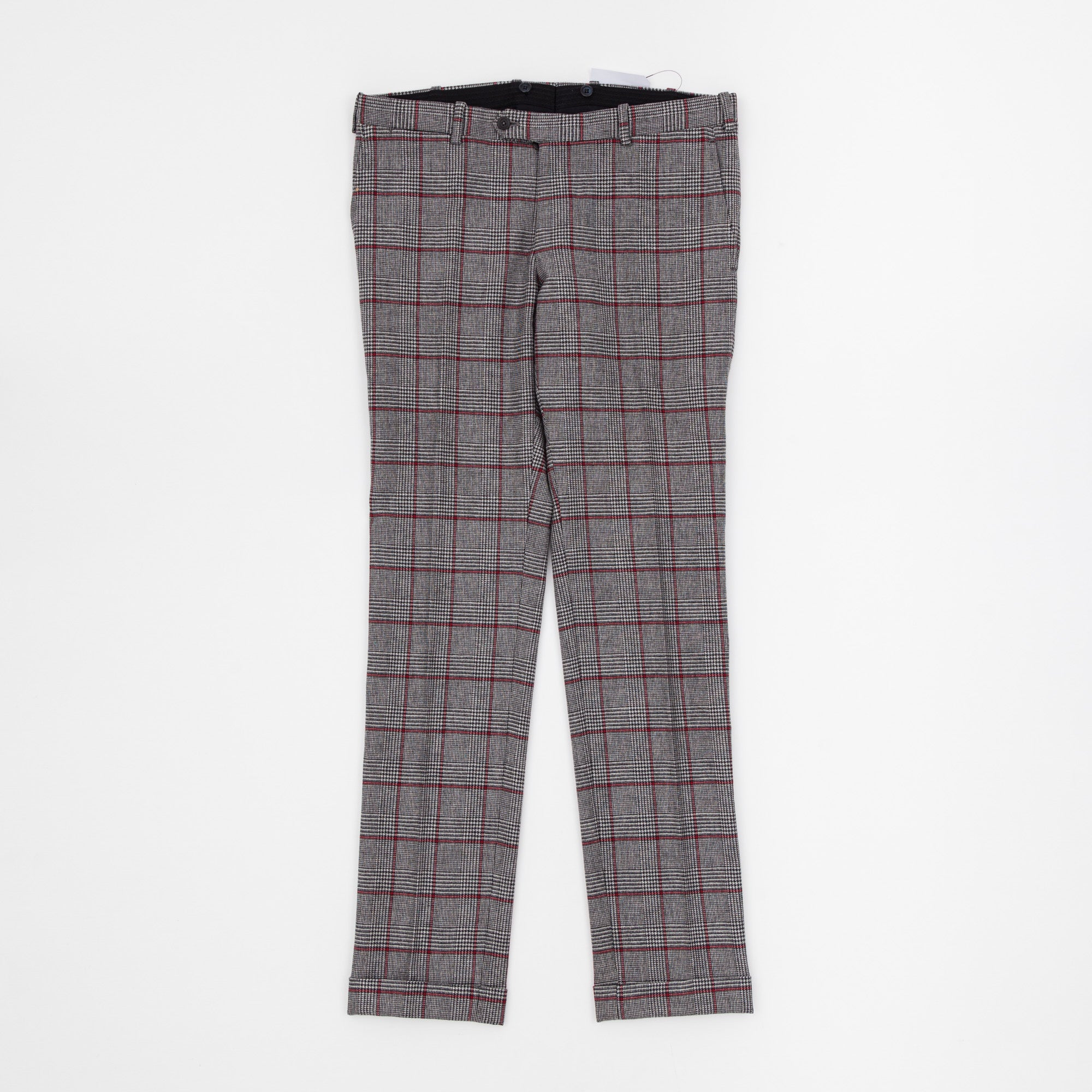 Johnstons Of Elgin Prince of Wales Check Trousers