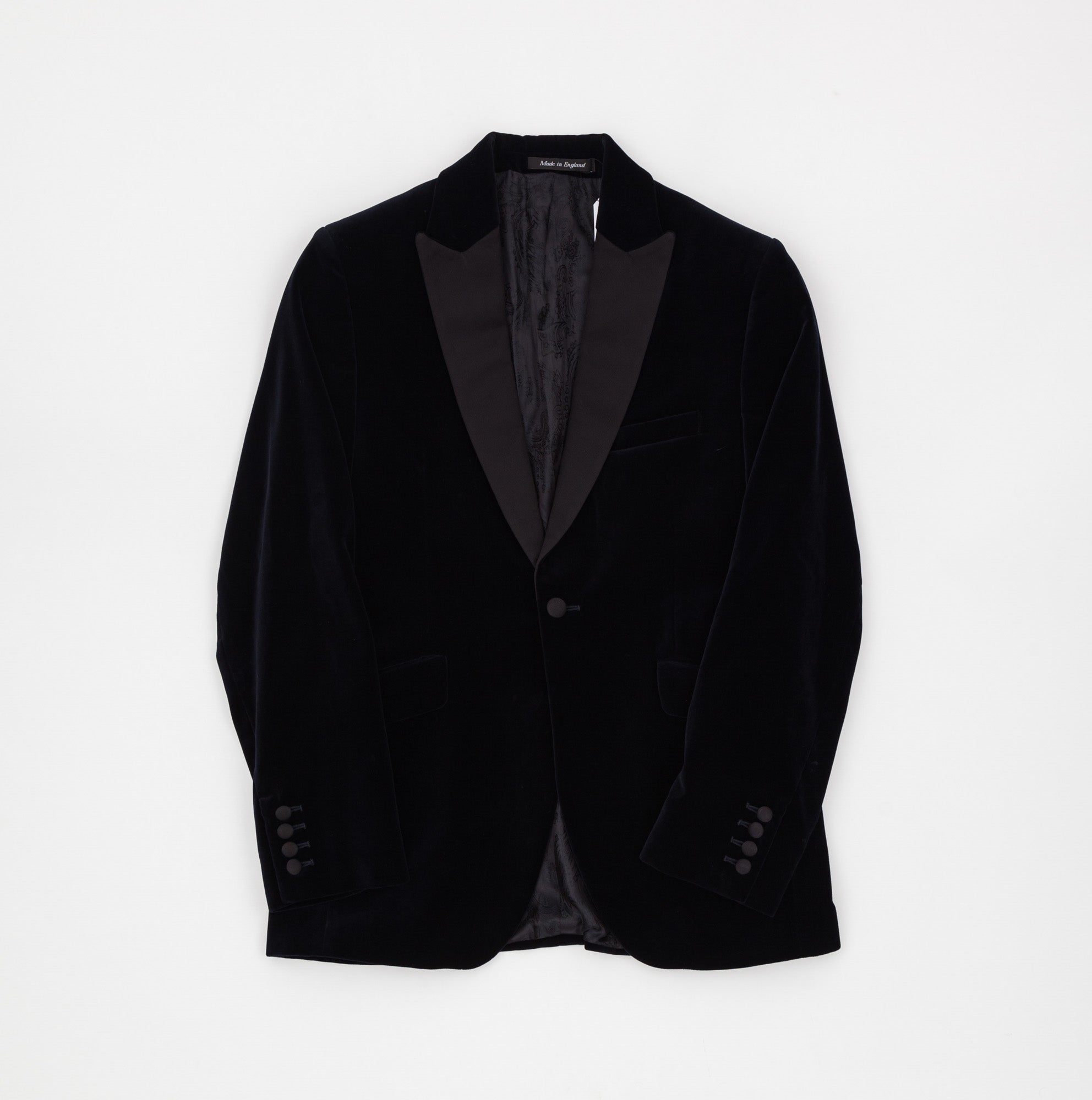 Favourbrook Velvet Smoking Jacket