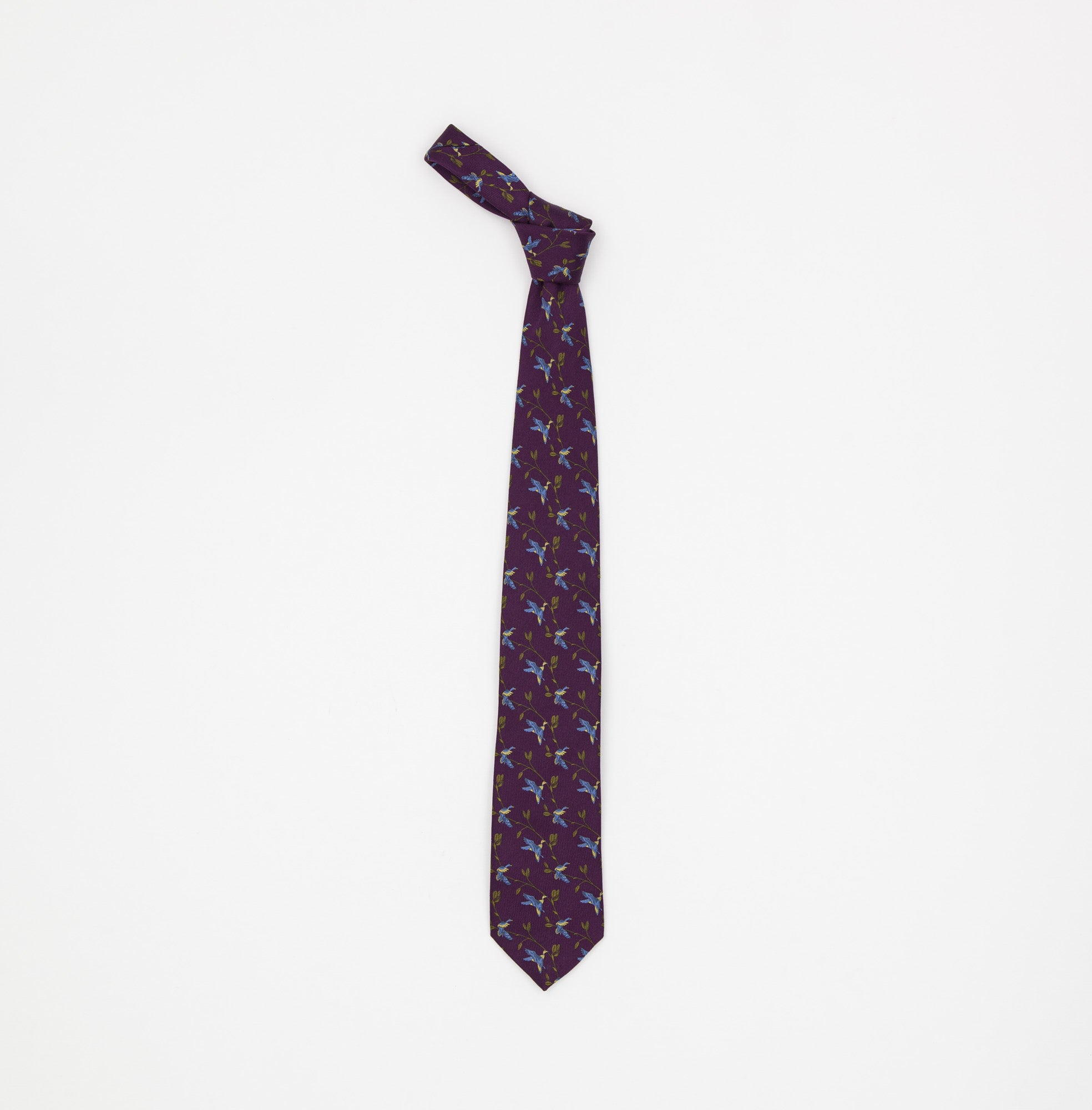 New & Lingwood Silk Tie
