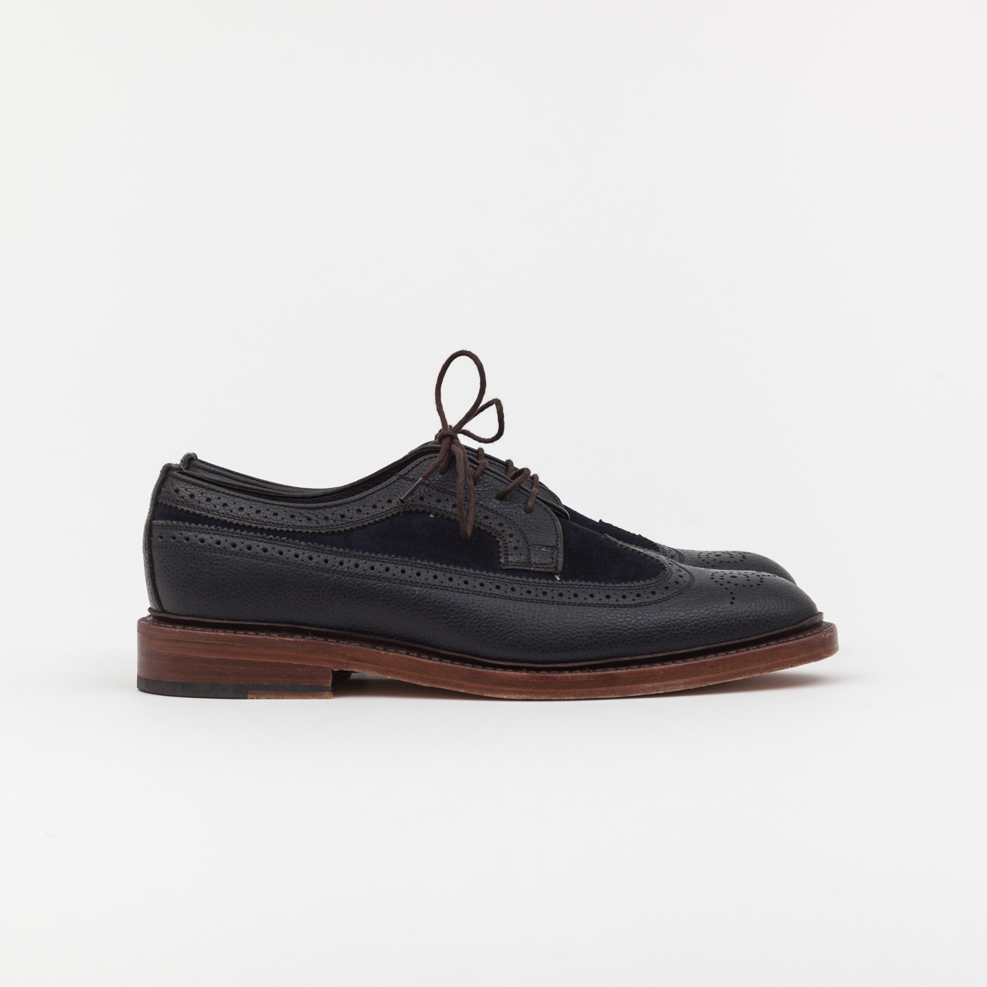 Marcus De Pebble Grain Leather Brogues
