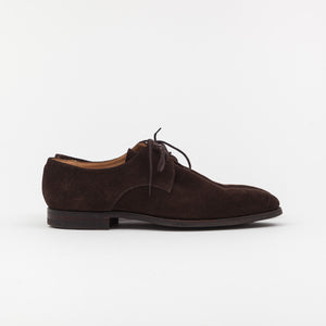 Crockett & Jones Suede Newquay Derby Shoes