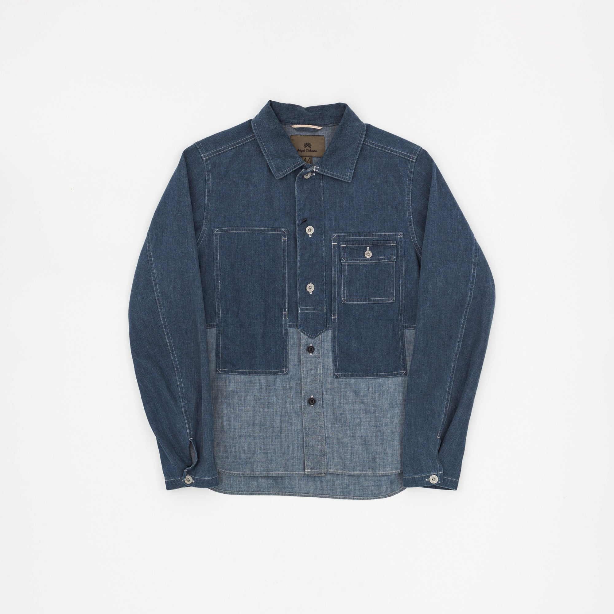Nigel Cabourn Mainline 2 Tone Shirt Jacket