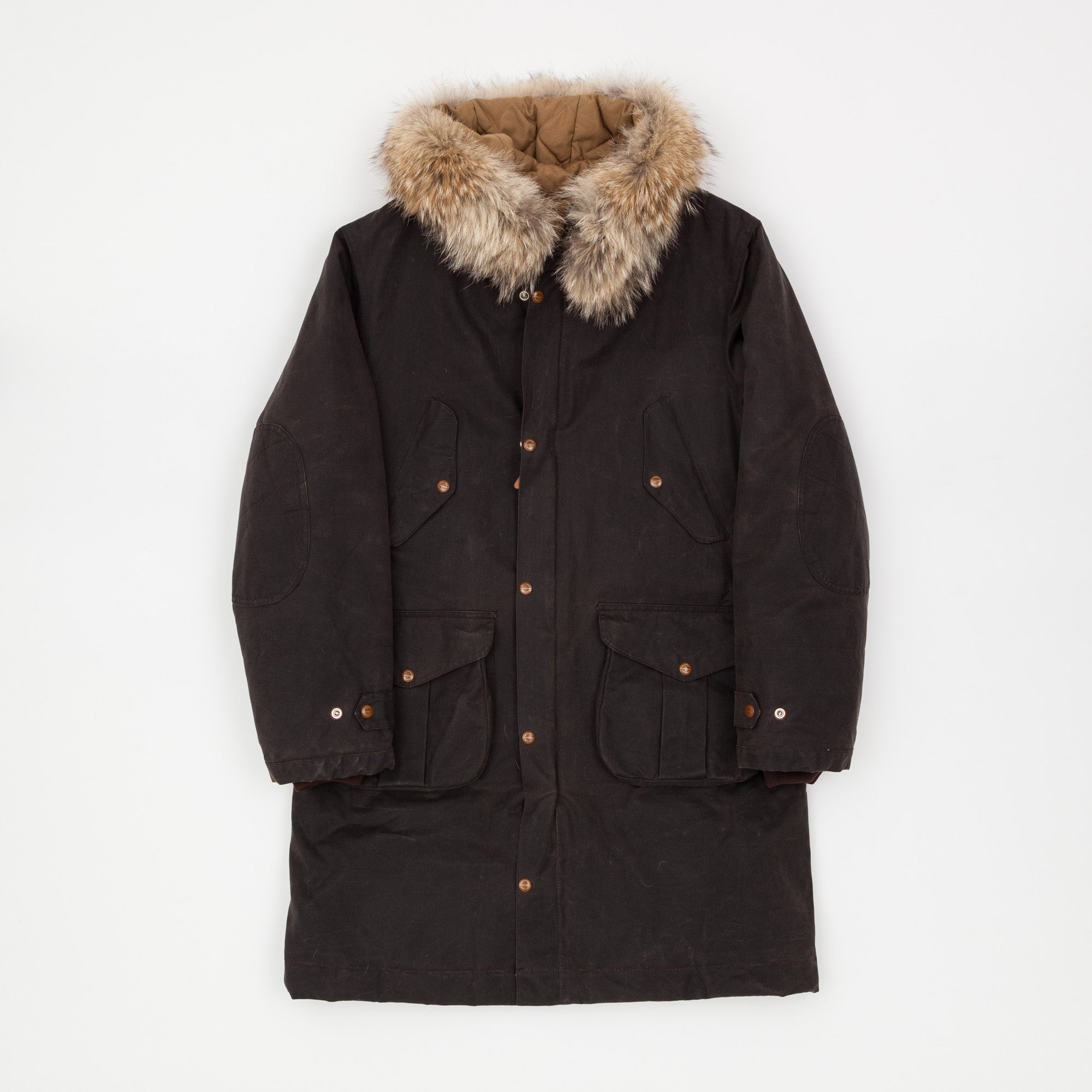 Manufattura Ceccarelli Waxed Fisherman Parka