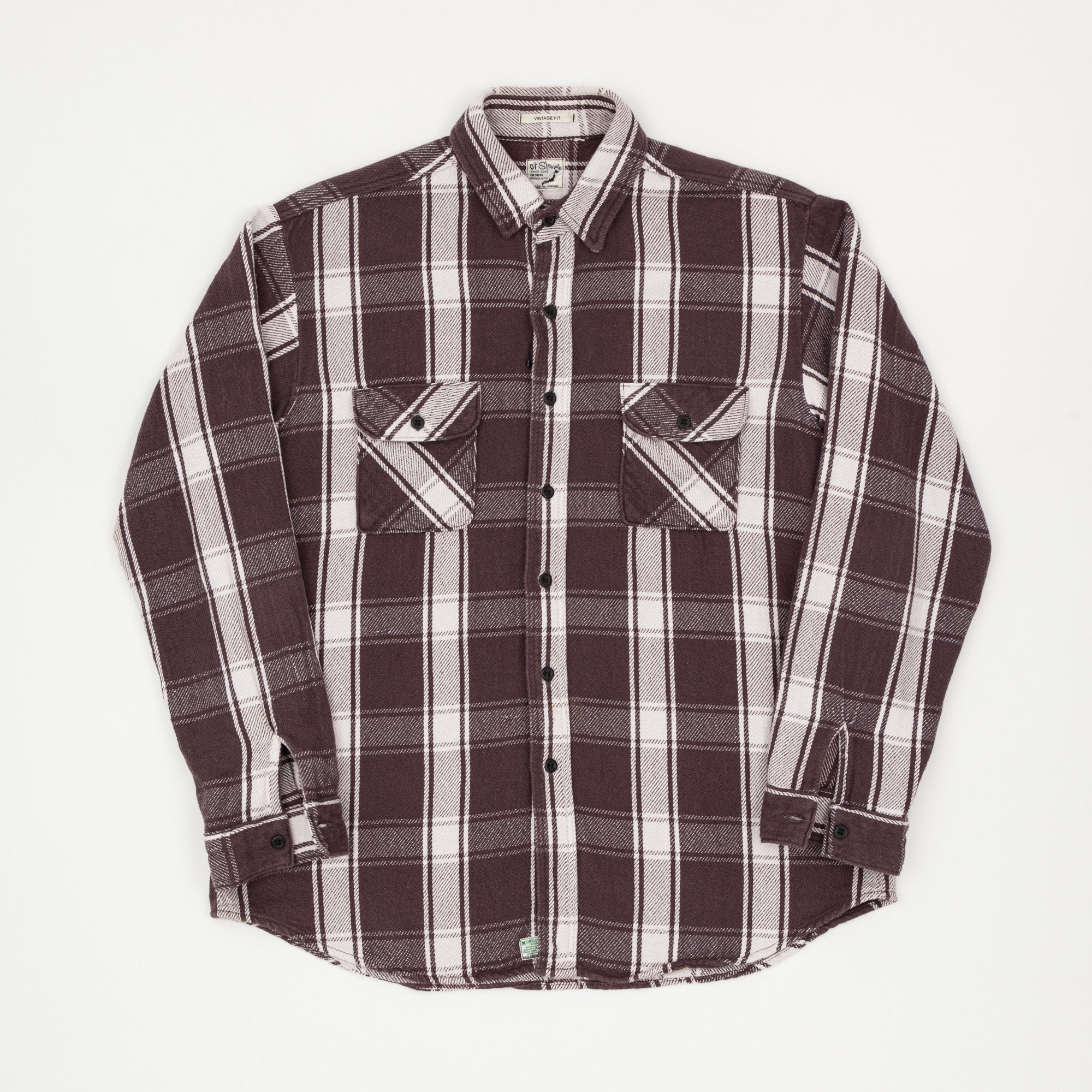 Orslow Check Flannel Shirt