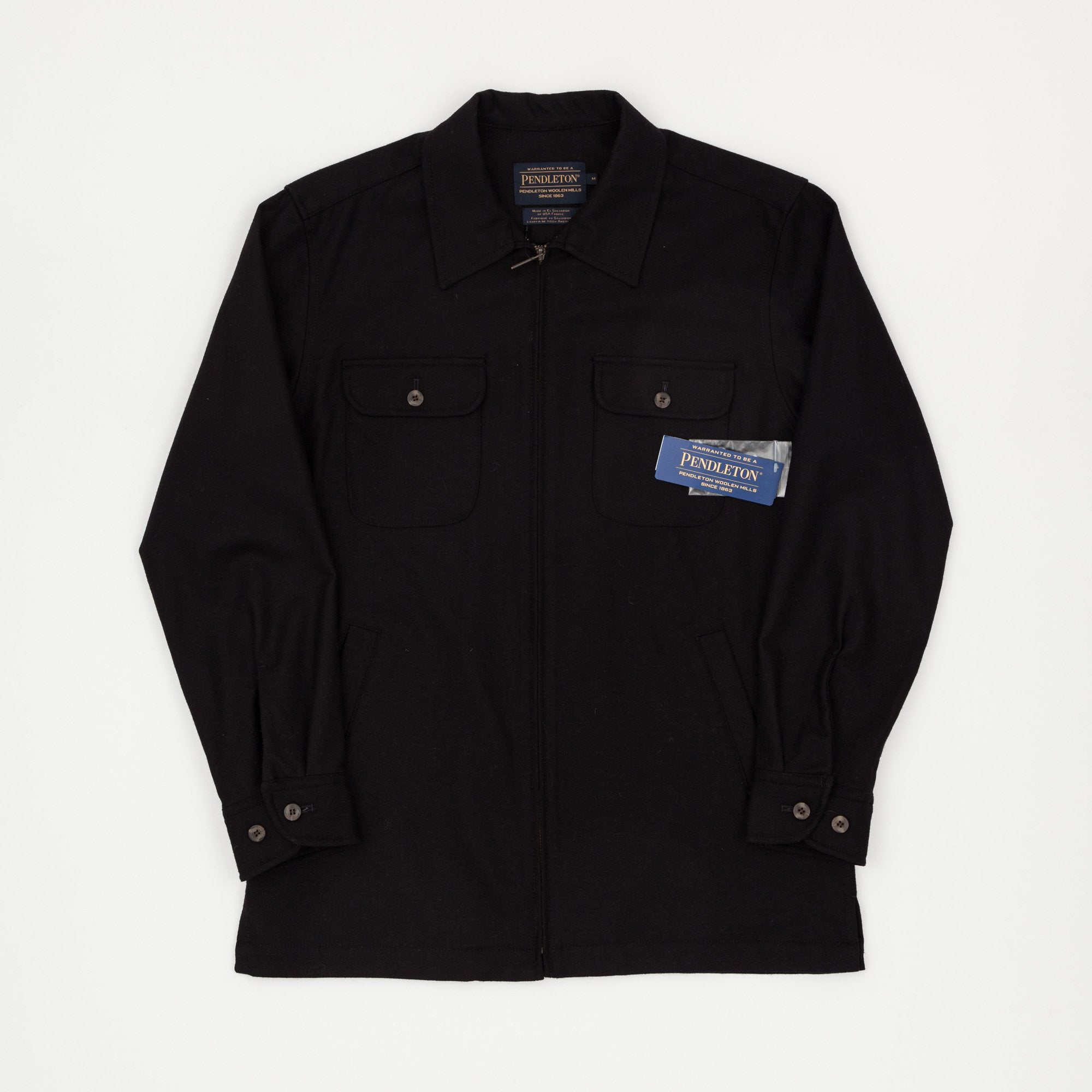 Pendleton Wool Full Zip Overshirt
