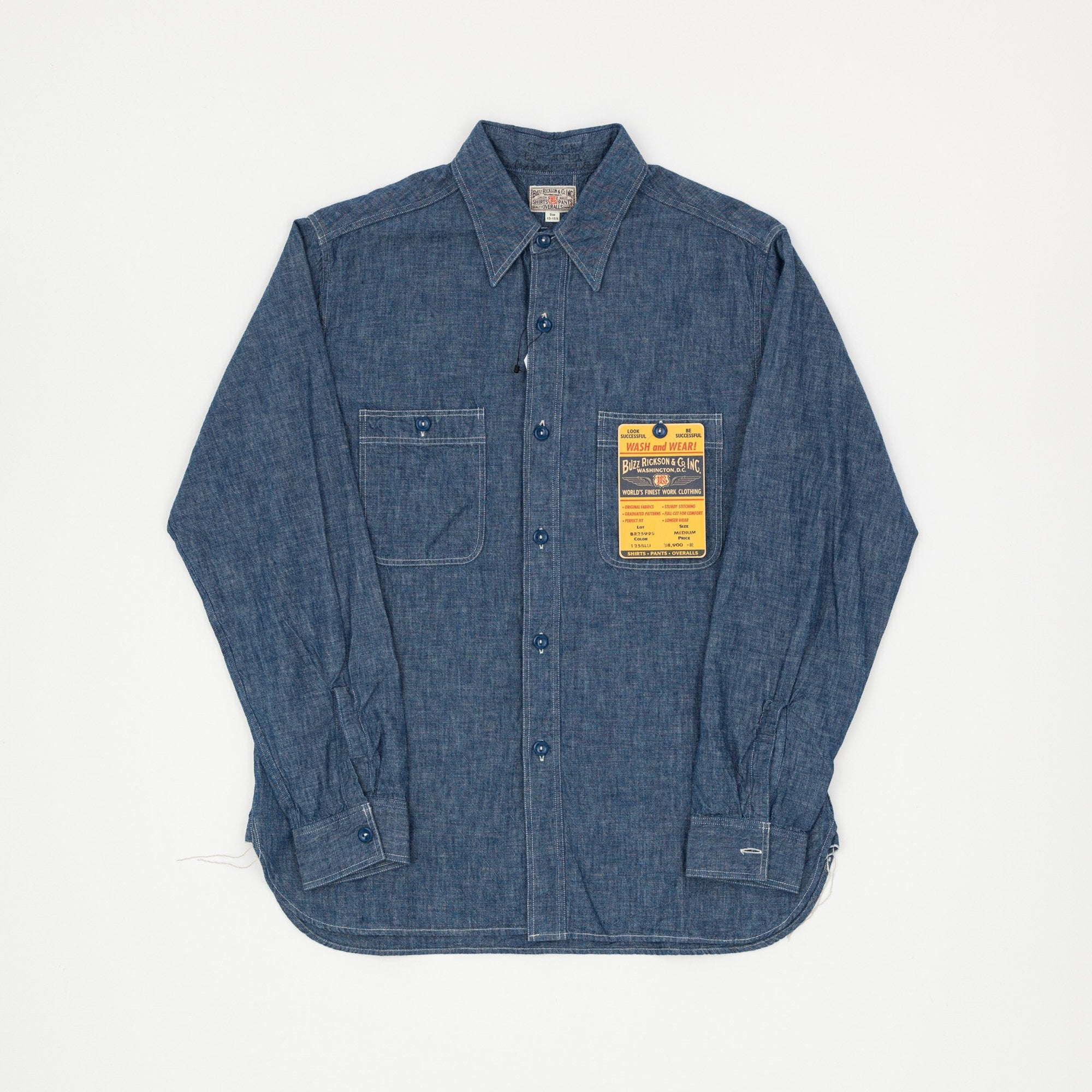 Buzz Rickson's U.S Navy 1944 Chambray Shirt