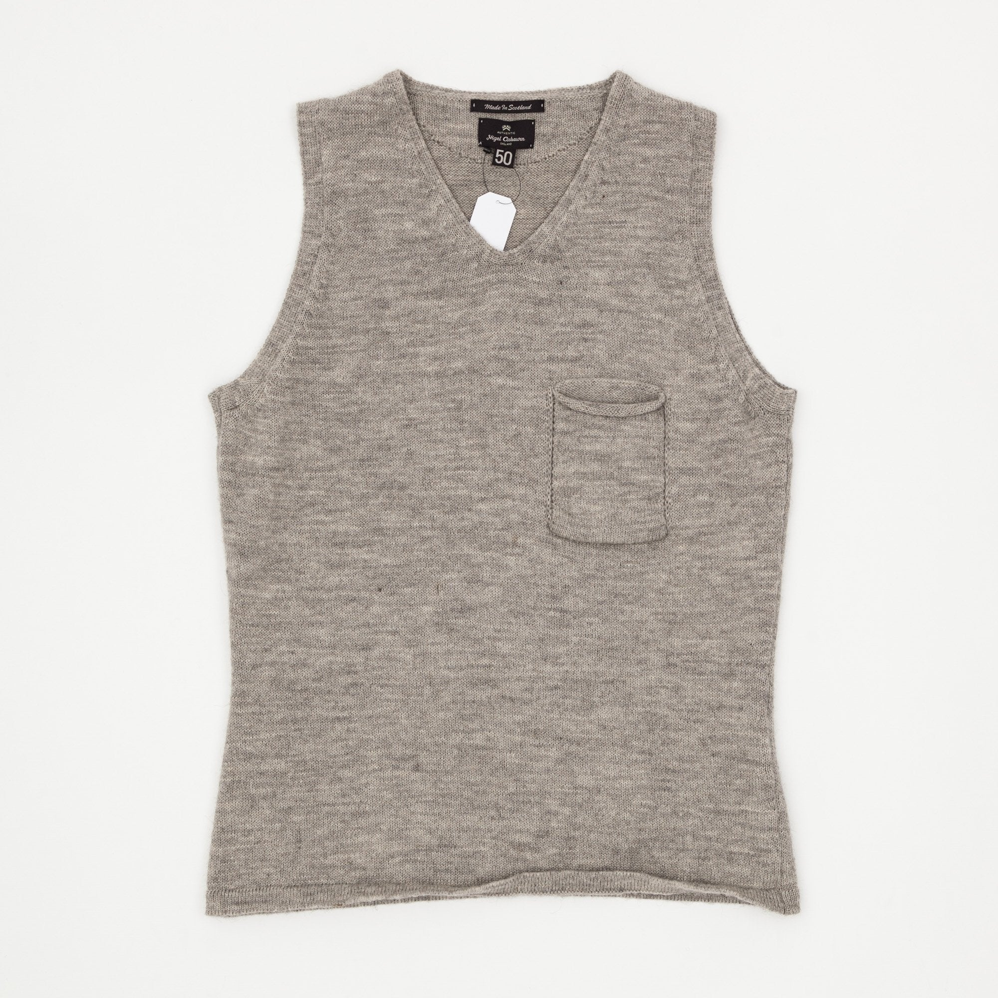 Nigel Cabourn Wool Knitted Pullover Vest