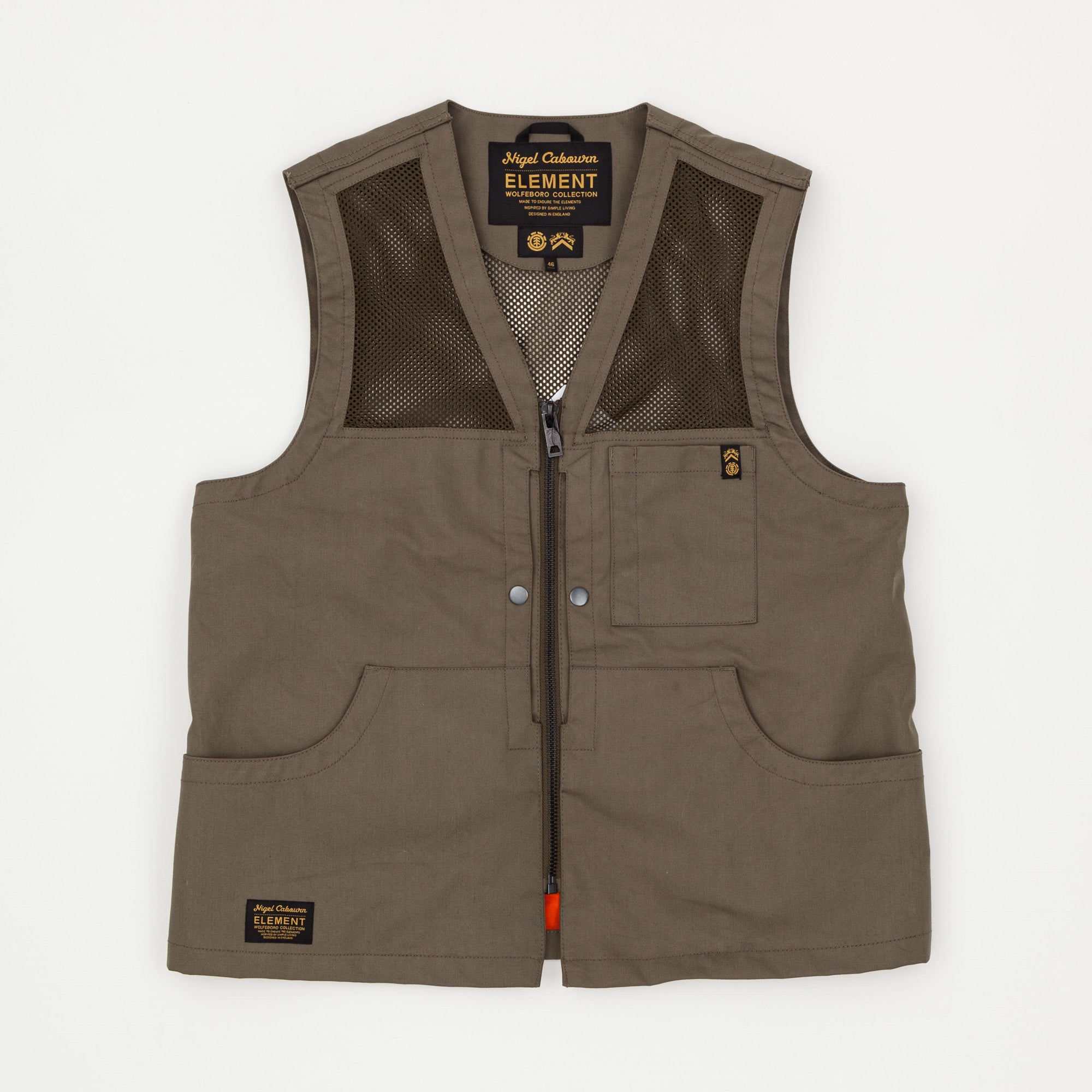 Nigel Cabourn x Element Alder Hunting Vest