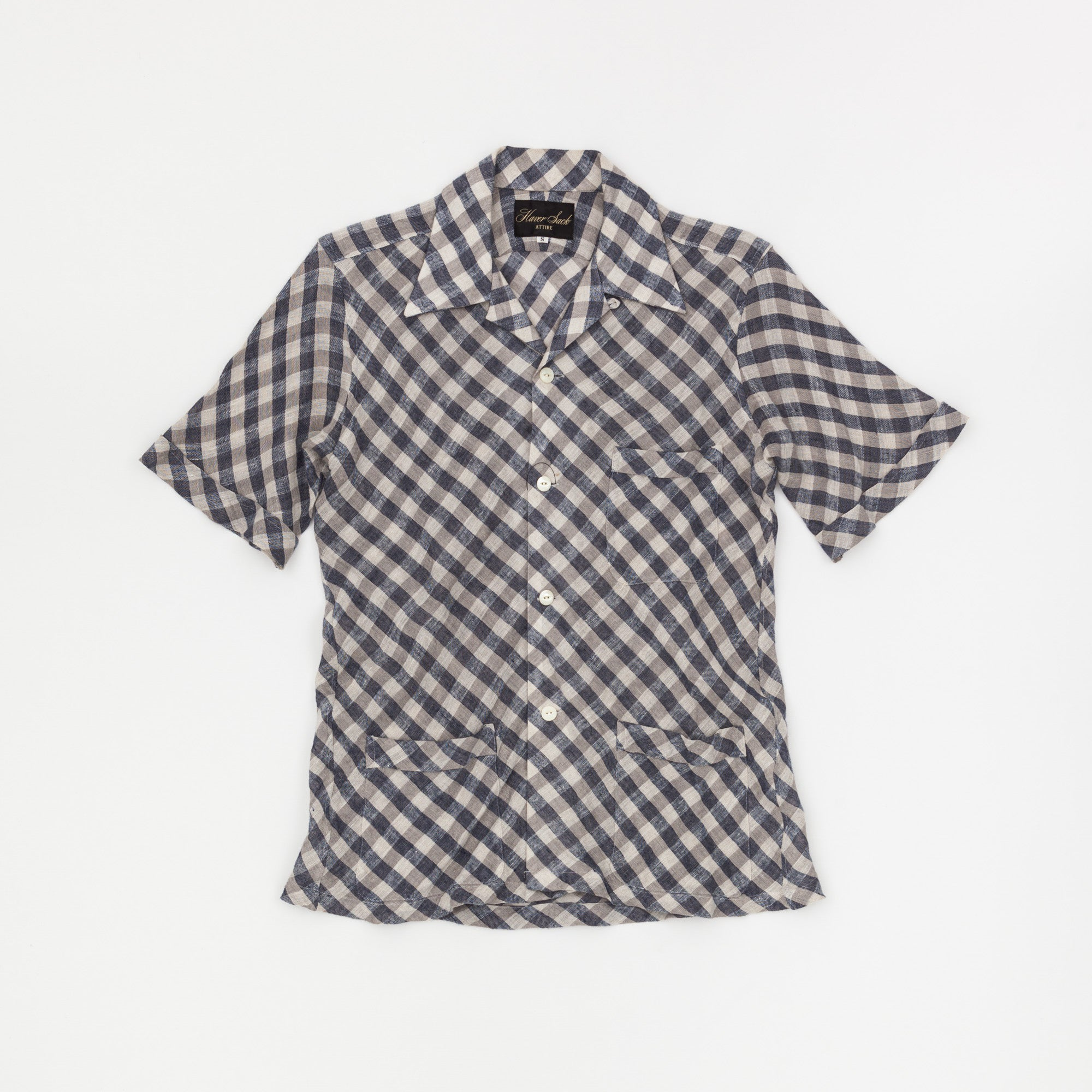 Haversack Short Sleeve Linen Shirt