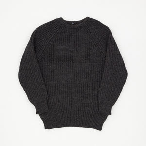 Highland 2000 Crewneck Chunky Knit Wool Sweater