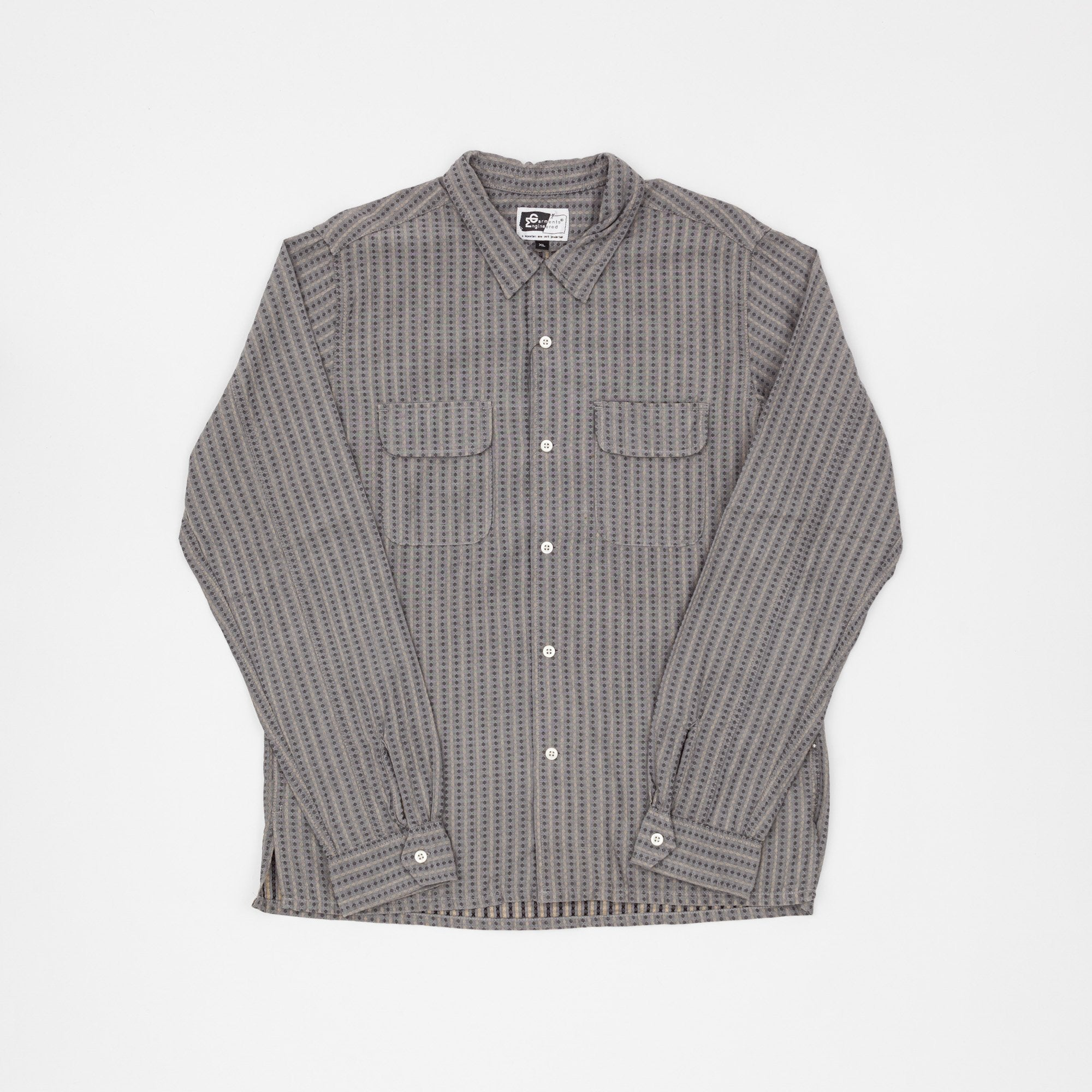 Engineered Garments Striped Work Shirt
