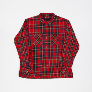 Engineered Garments Cotton Tartan Check Work Shirt
