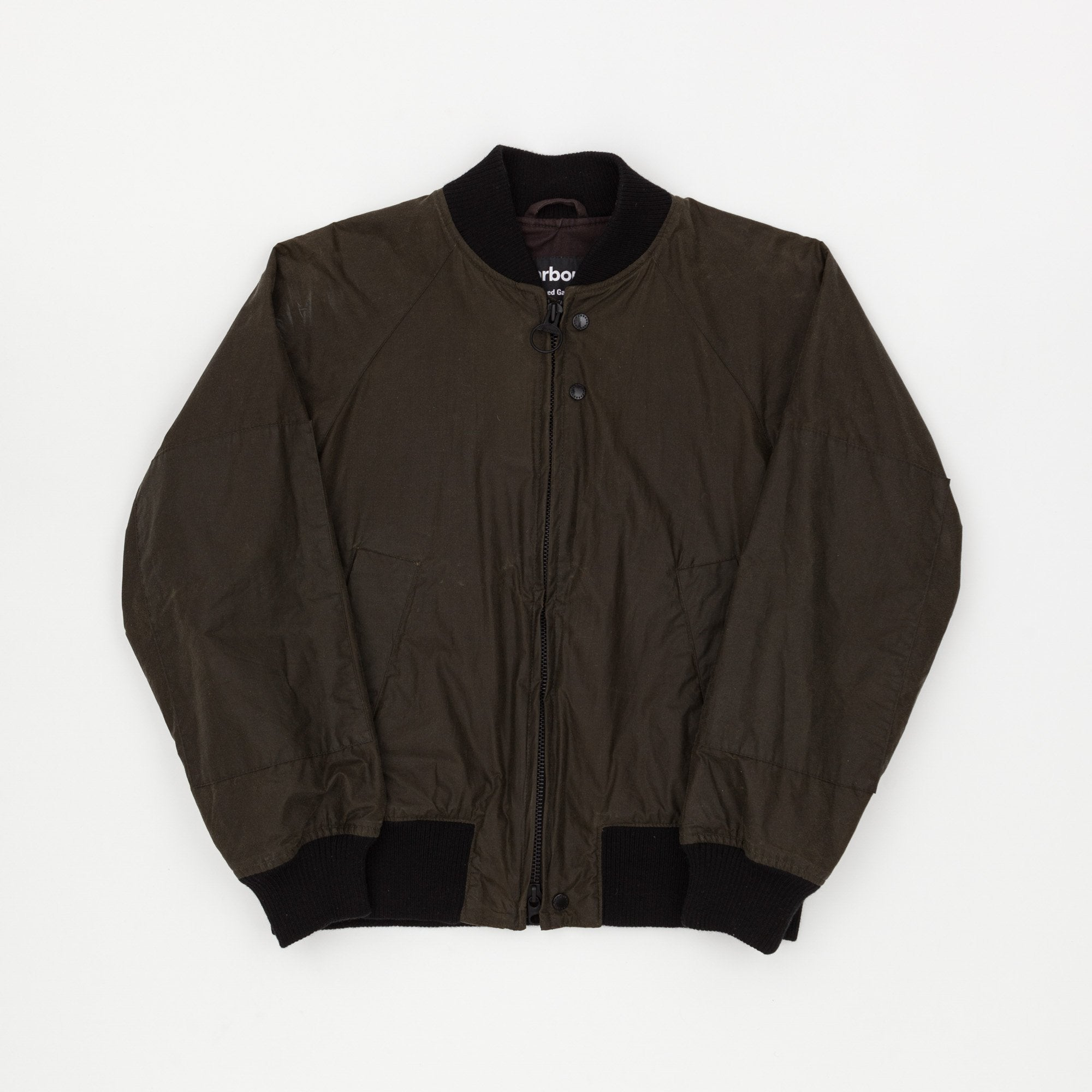 Barbour x Engineered Garments Dumbo Wax Bomber Jacket