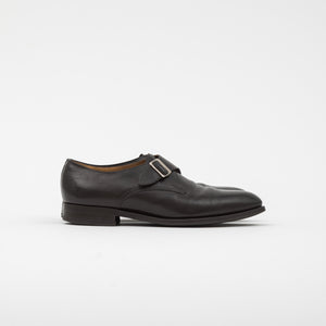 Edward Green Clapham Utah Leather Monk Strap Shoe