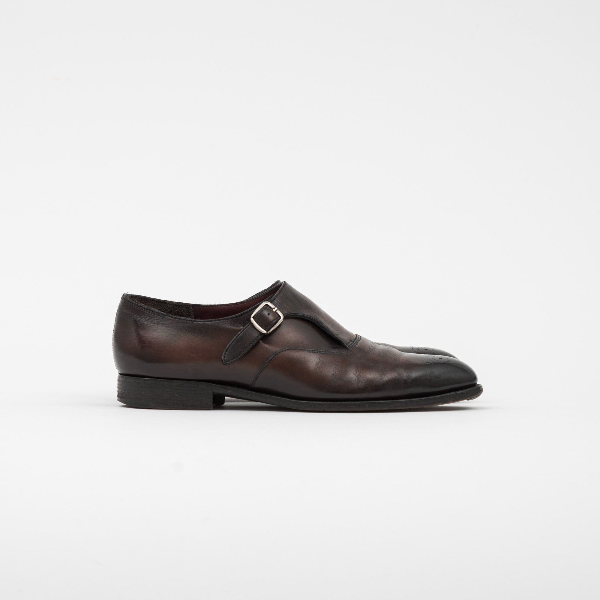 Edward Green Utah Leather Mercer Shoe