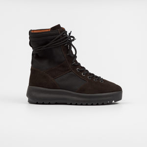 Matteo Scotti Season 3 ONYX Suede Military Boots