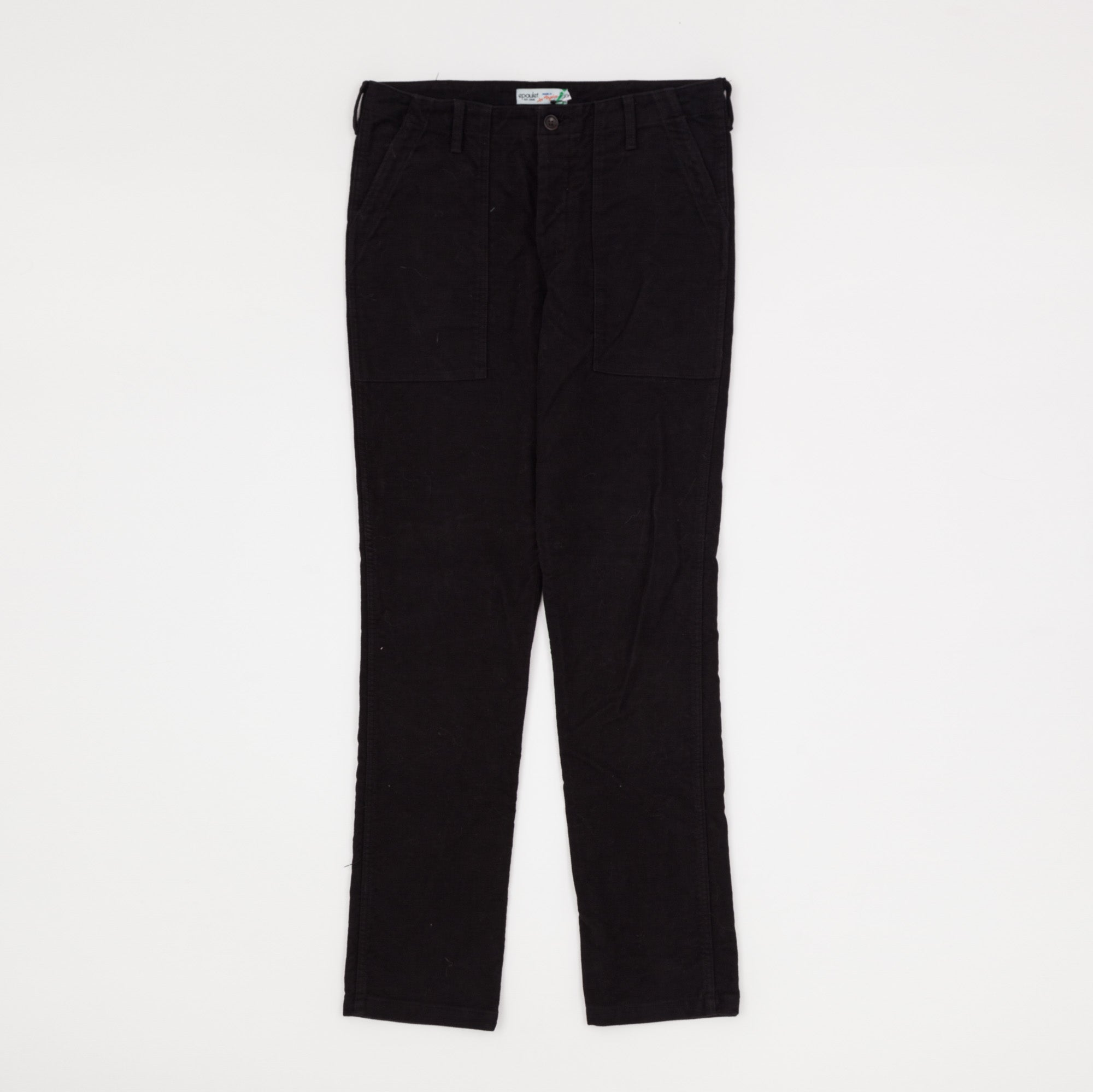 Epaulet Moleskin Fatigue Pants